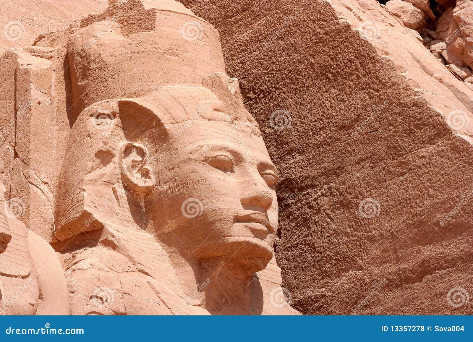Ramesses II in Abu Simbel