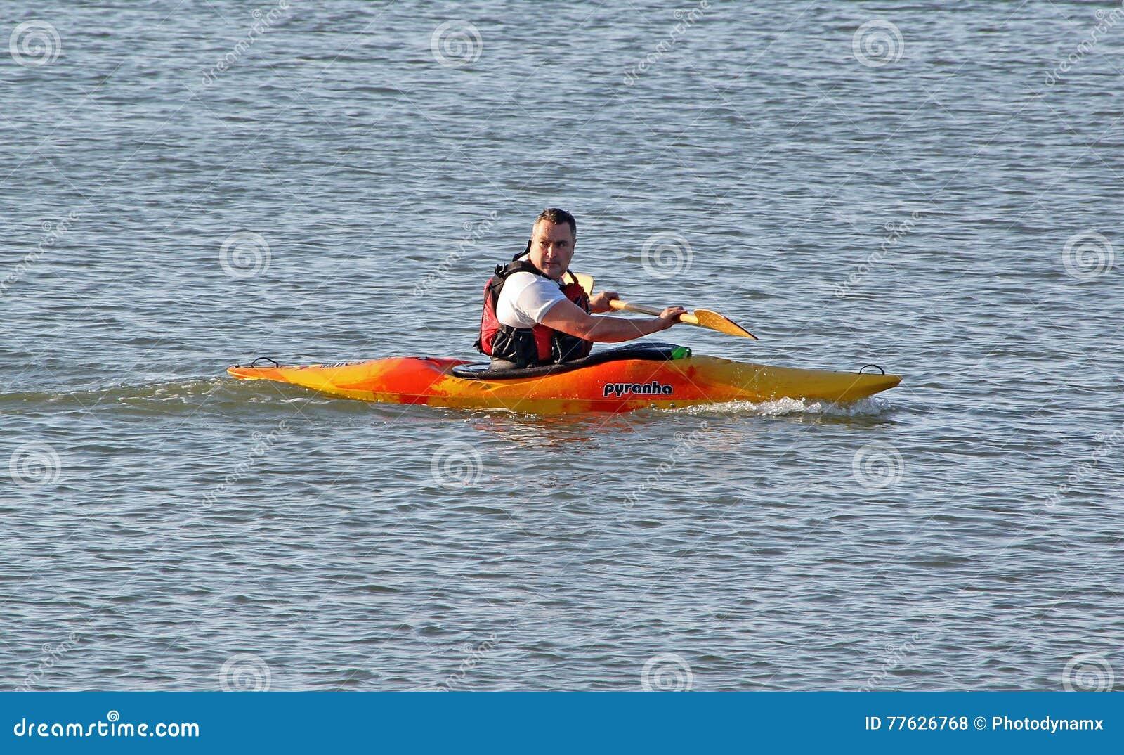 rameur kayak