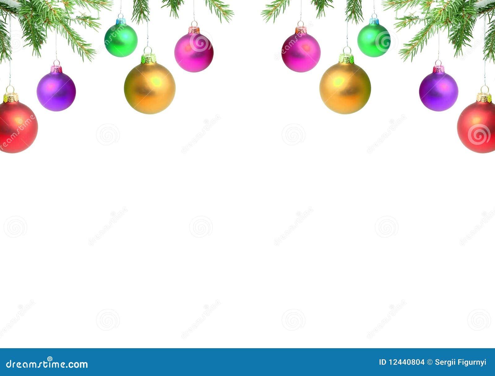 Ramificaciones con un juguete de la Navidad