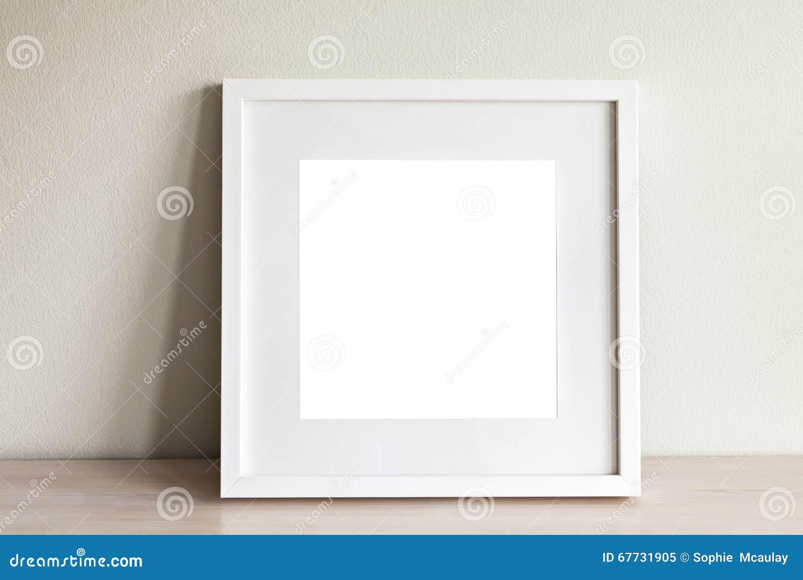 Rammodell för vit fyrkant