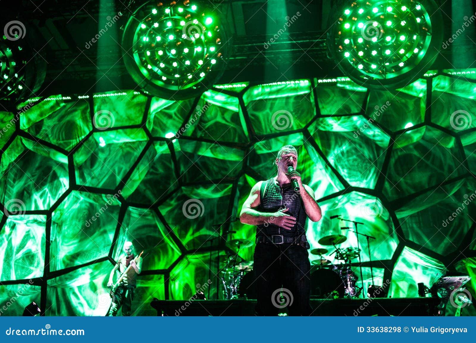 Rammstein concert editorial stock photo  Image of rock