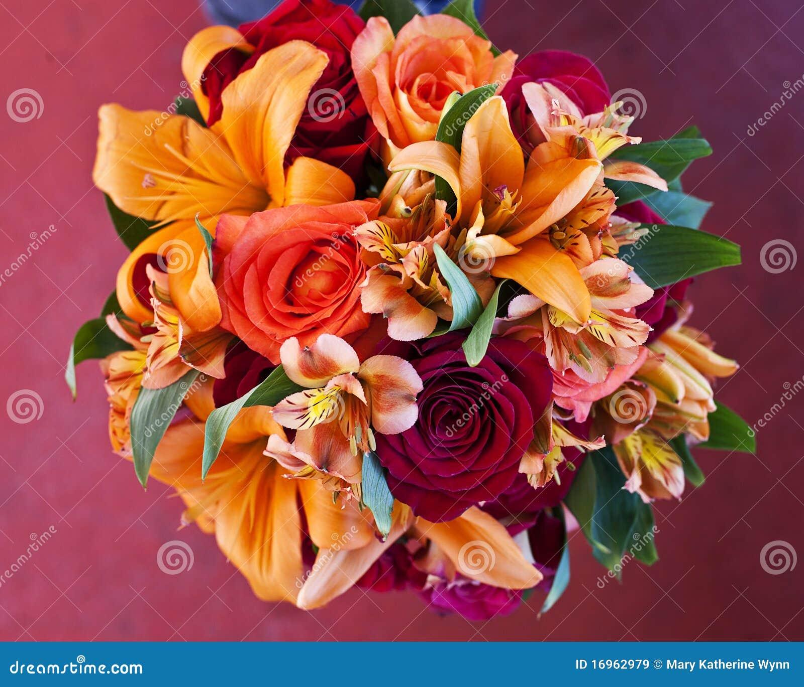 Ramo De Flores Del Otoño Imagen De Archivo Imagen De Boda 16962979