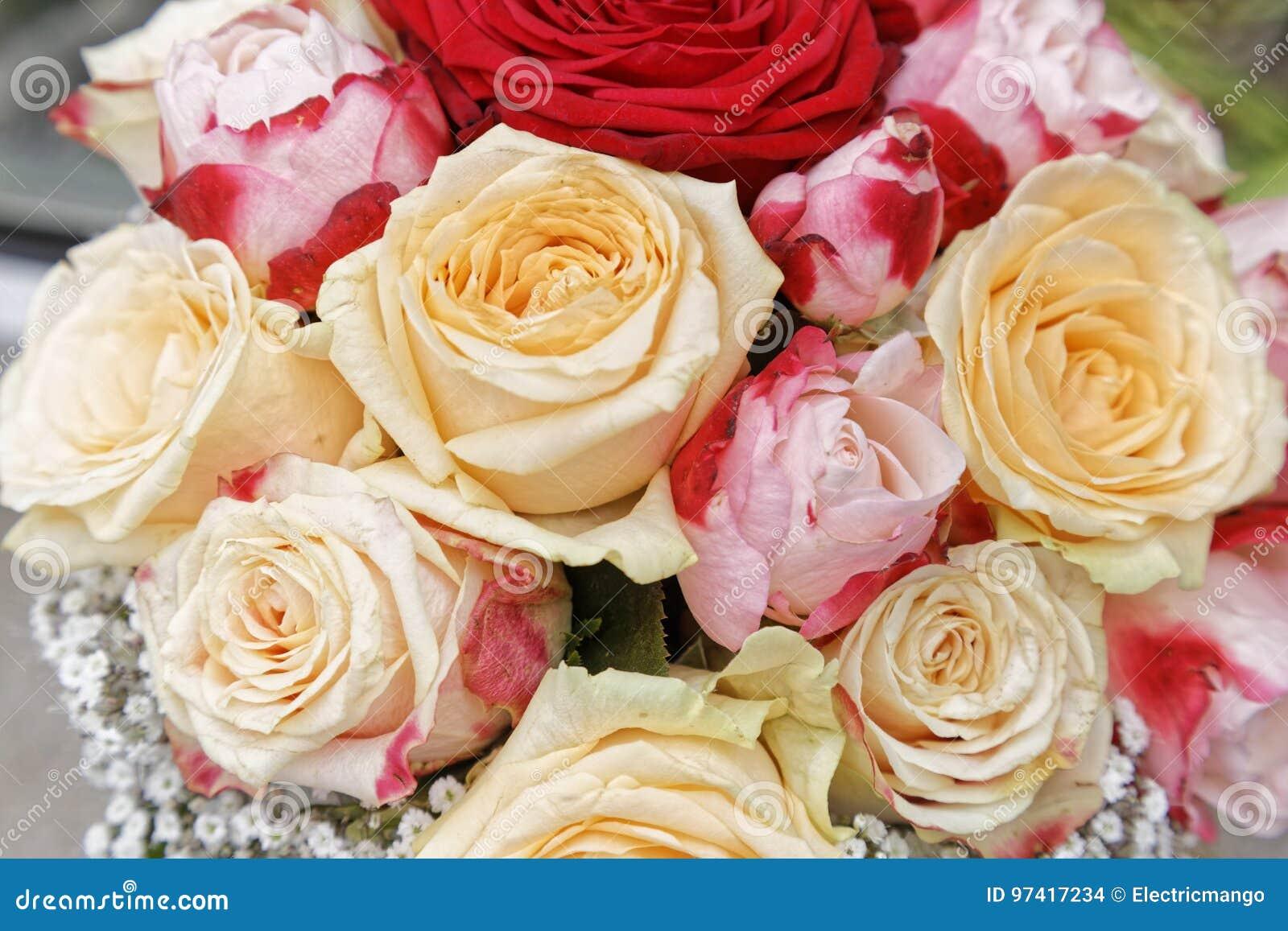 Ramo de la flor de la boda