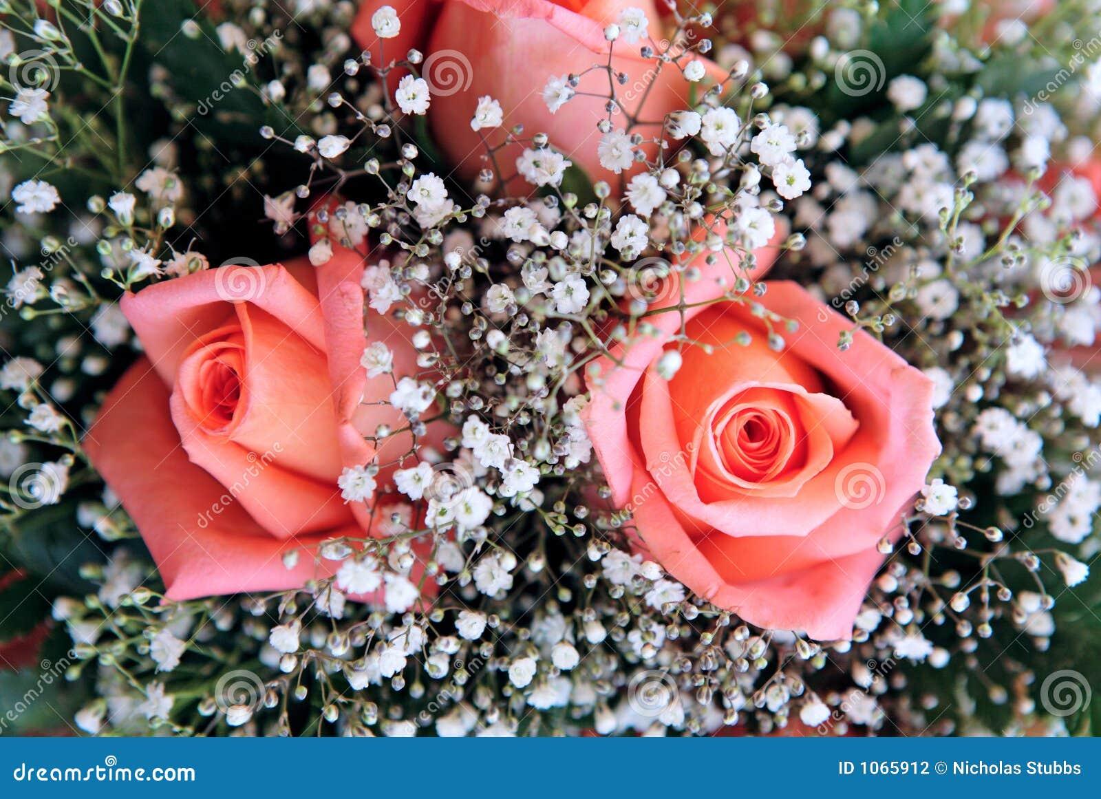 Ramo hermoso de flores en una boda