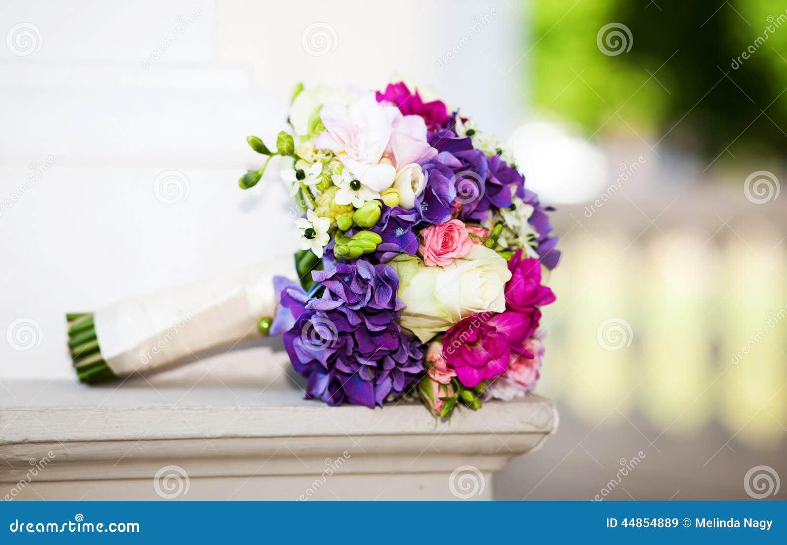 Ramo hermoso de la boda