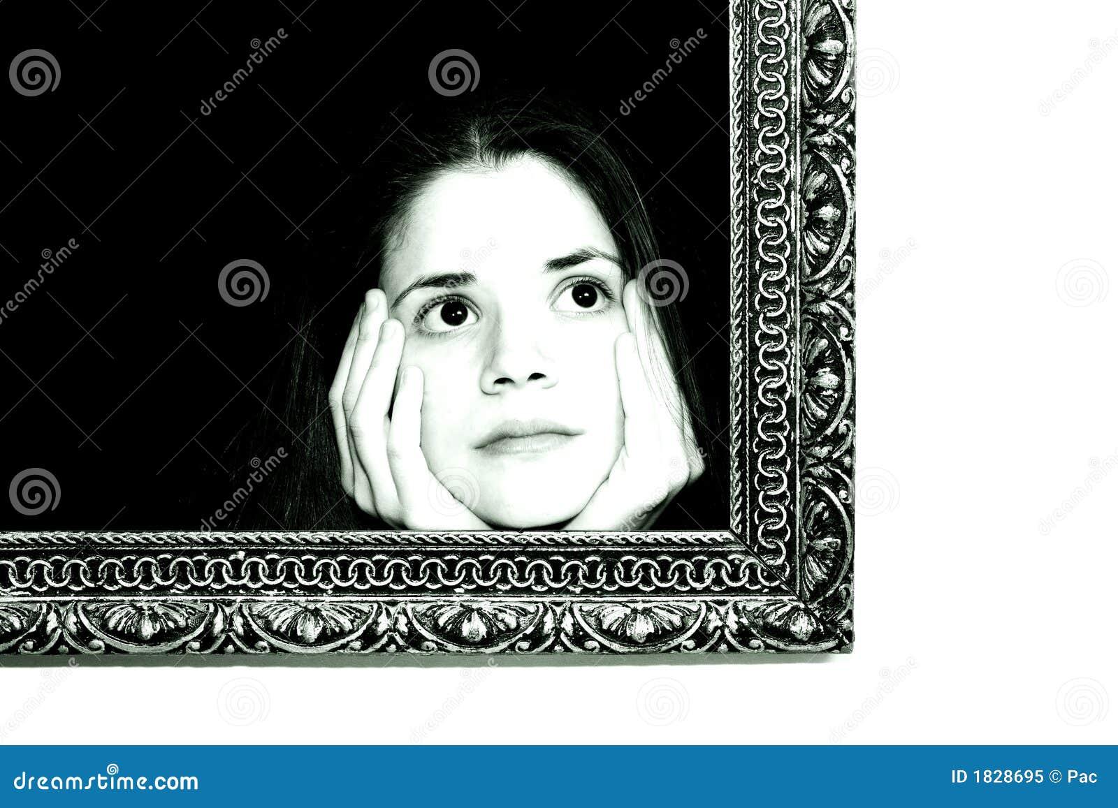 Ramowa obraz kobiety