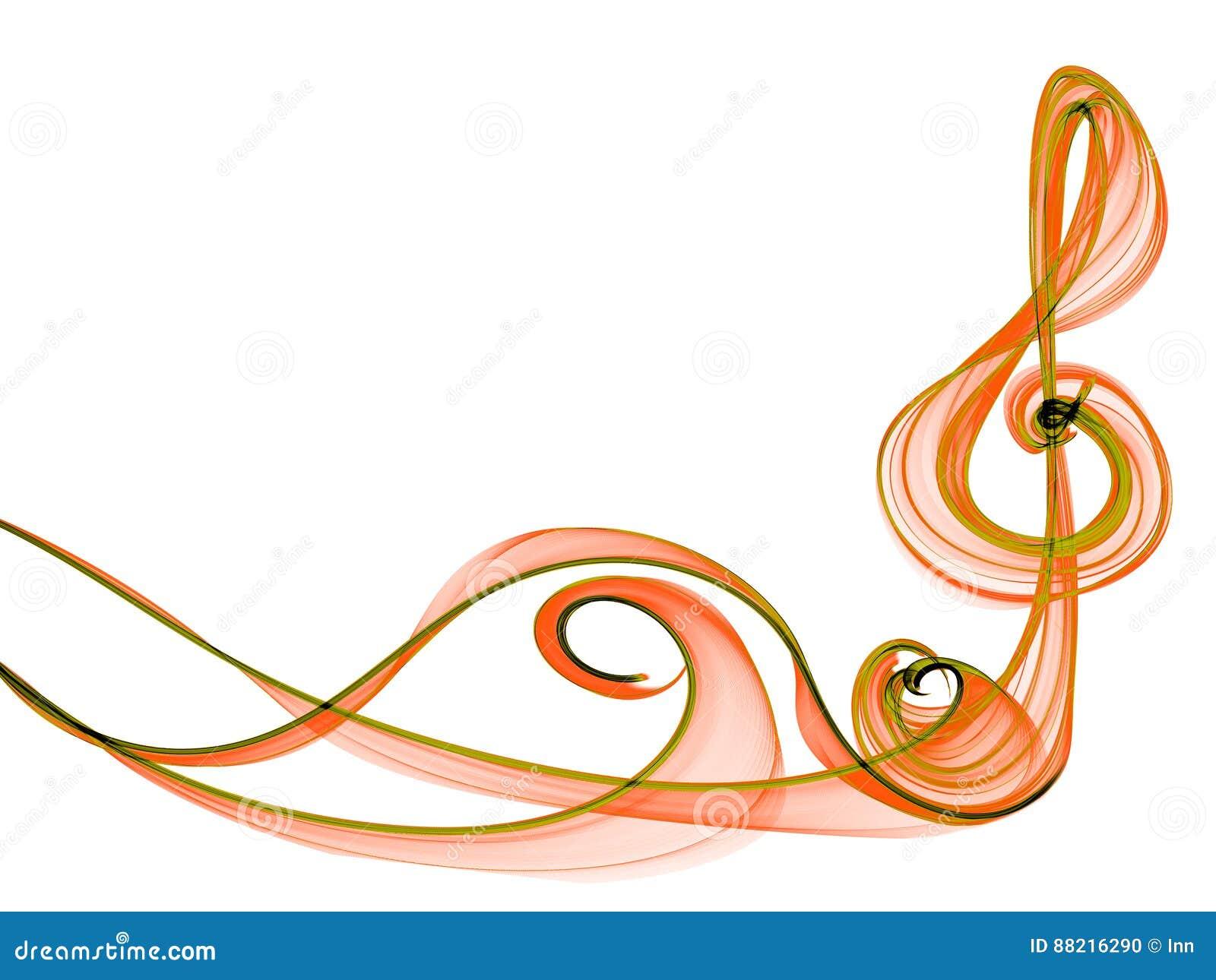 Ramowy muzyka znaka abstrakt