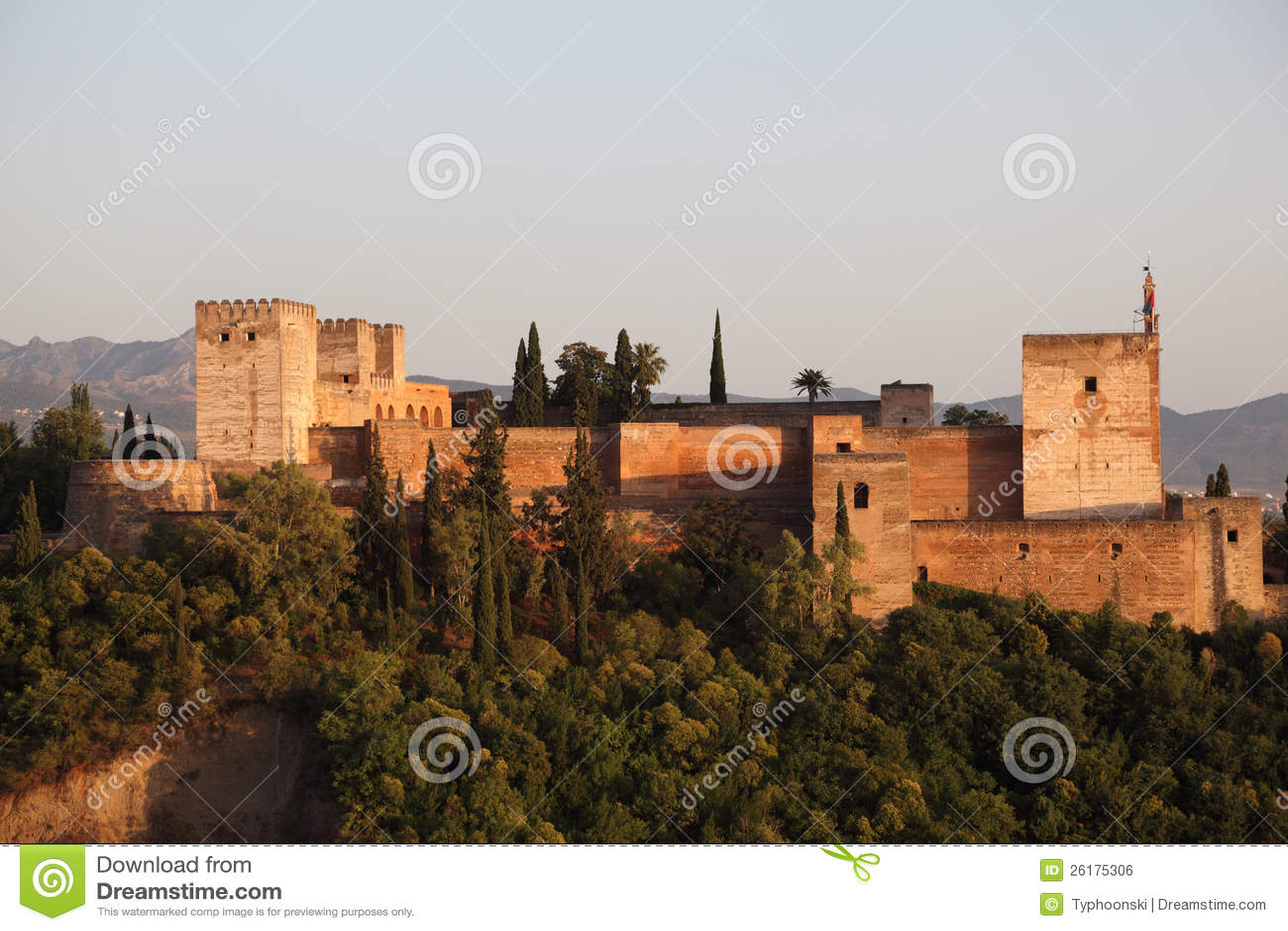 Ramparts av Alhambraen