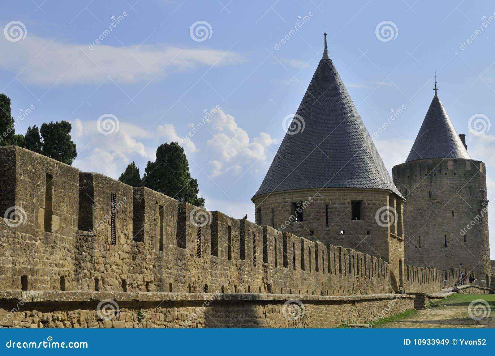Ramparts carcassonne