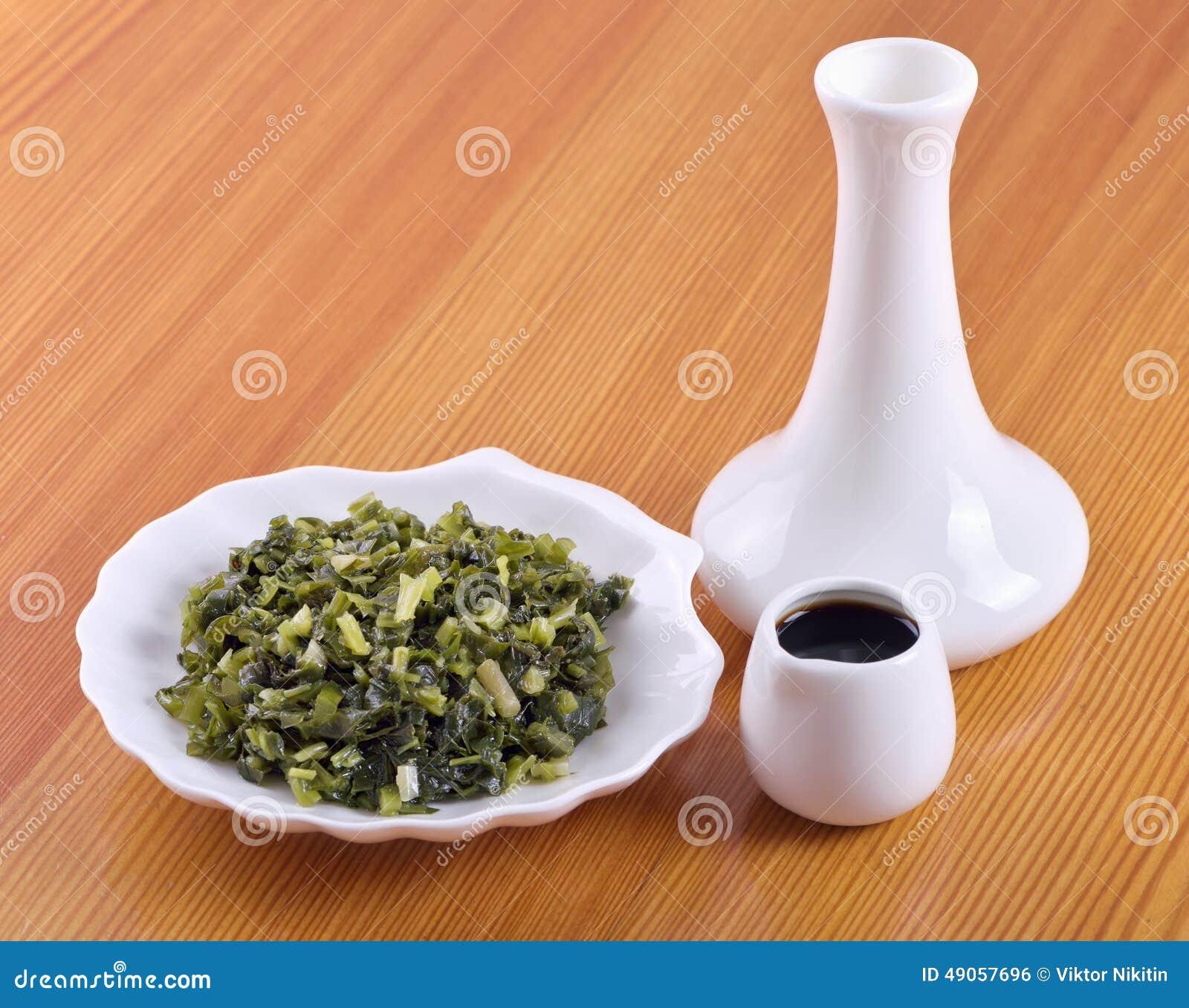Ramsons salados (ursinum del allium)