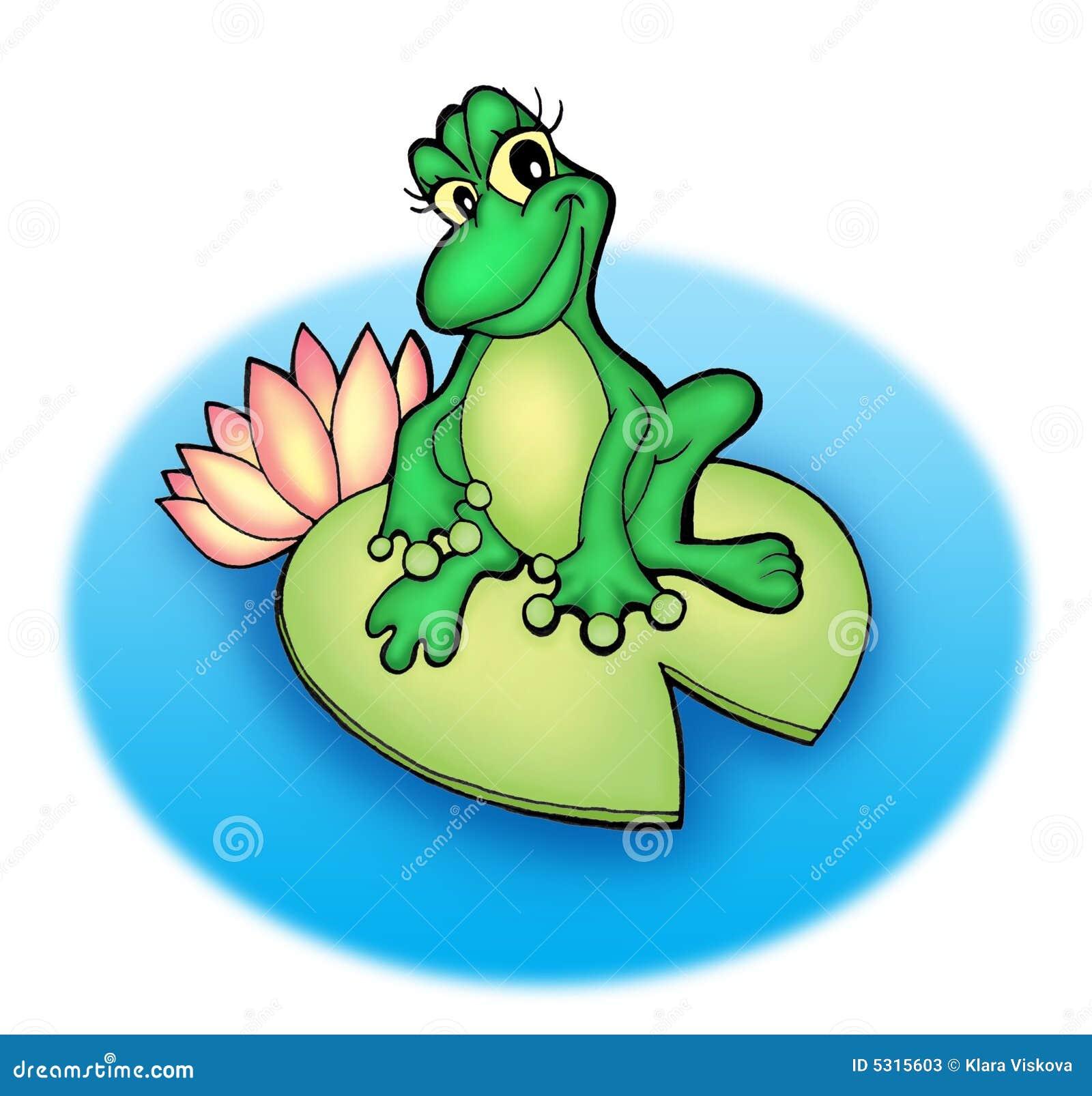 Download Rana illustrazione di stock. Illustrazione di animale - 5315603