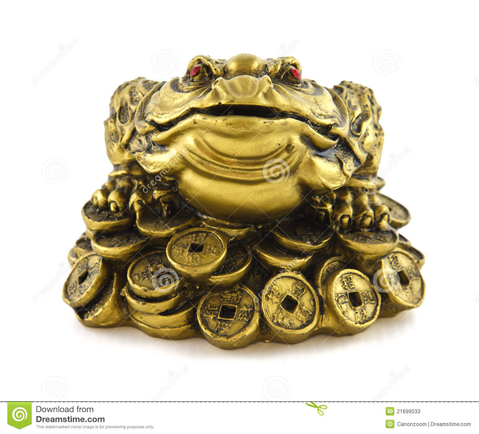 Rana afortunada china del dinero de feng shui para la - Feng shui para el dinero ...