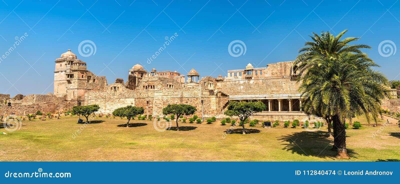 Rana Kumbha Palace, The Oldest Monument At Chittorgarh Fort