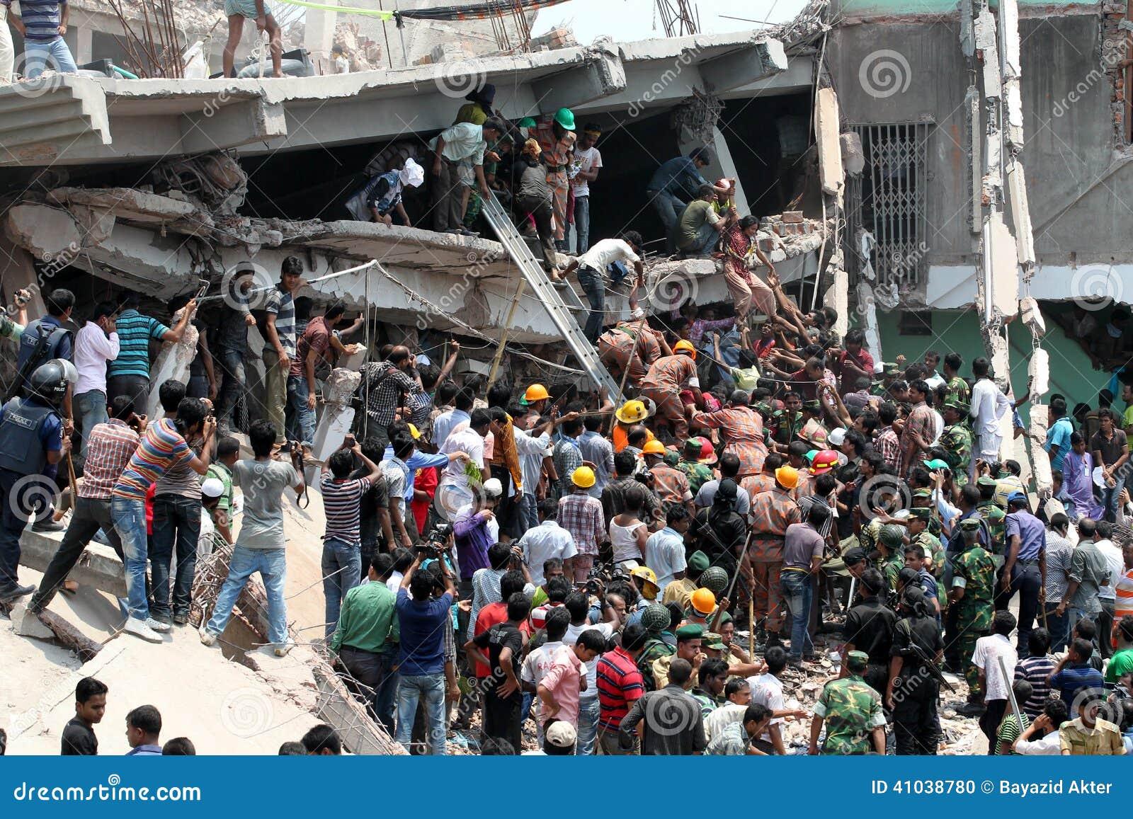 Rana-Piazza stürzte ein