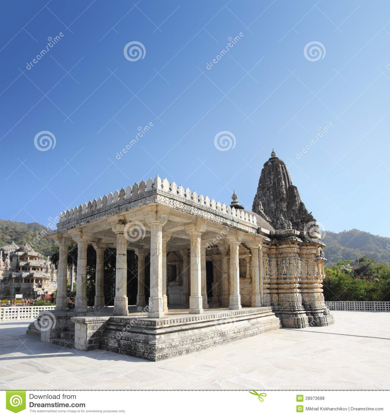 Ranakpur India  city photos gallery : Ranakpur Hinduism Temple In India Royalty Free Stock Photos Image ...