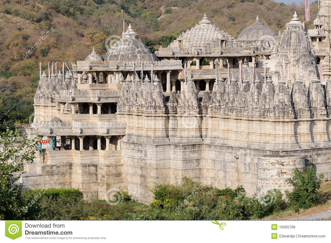 Ranakpur India  city pictures gallery : Ranakpur Temple India Royalty Free Stock Photos Image: 16305768