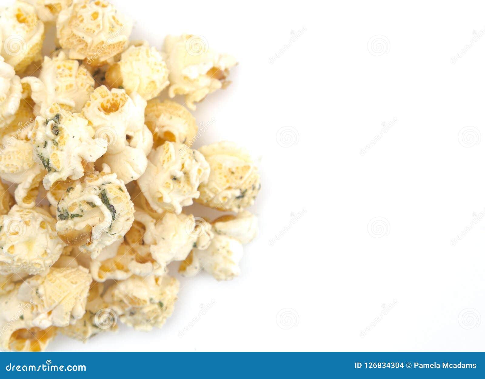Ranch gewürztes Weißkäse-Popcorn