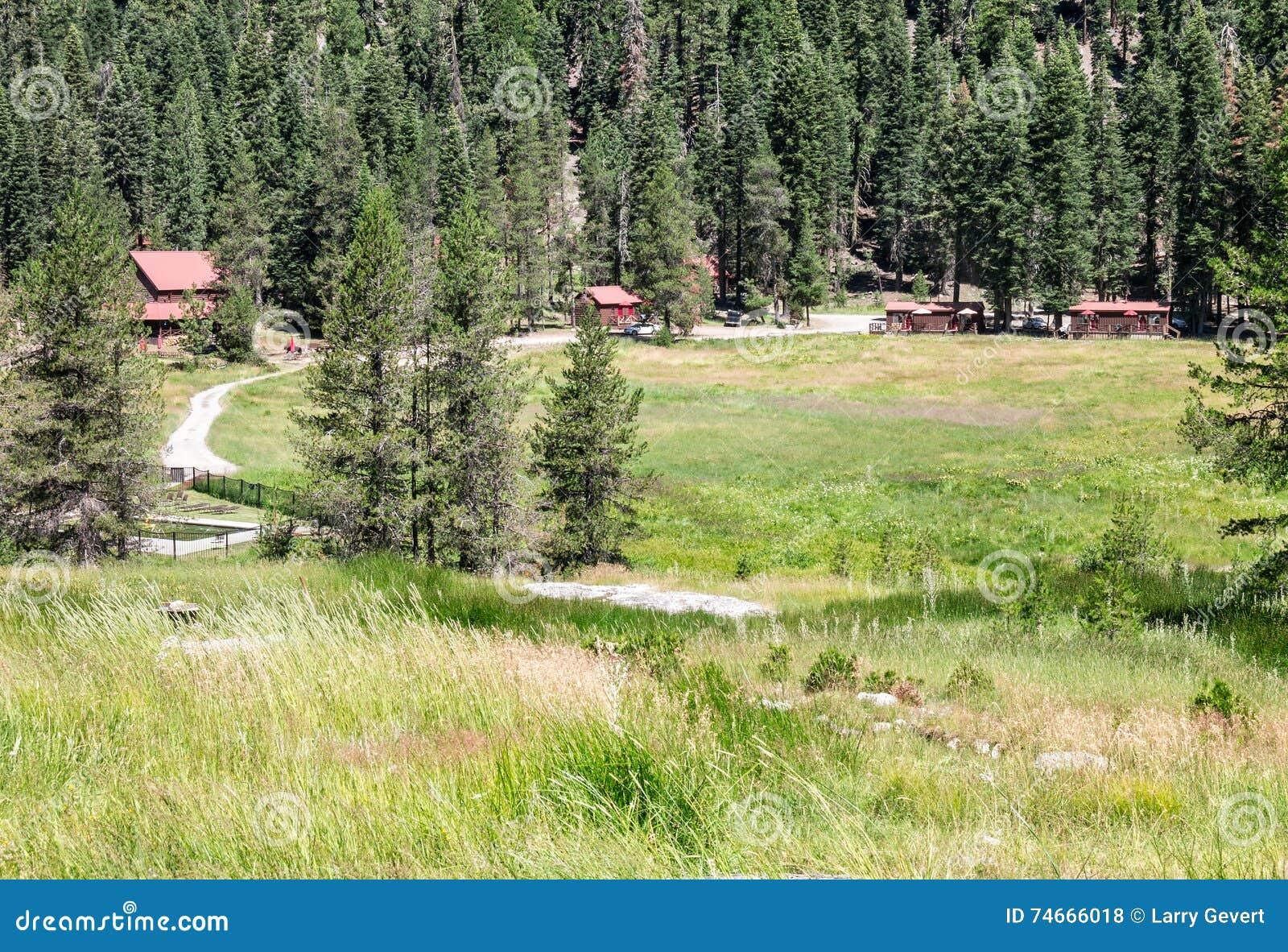 Rancho do convidado de Drakesbad, Warner Valley