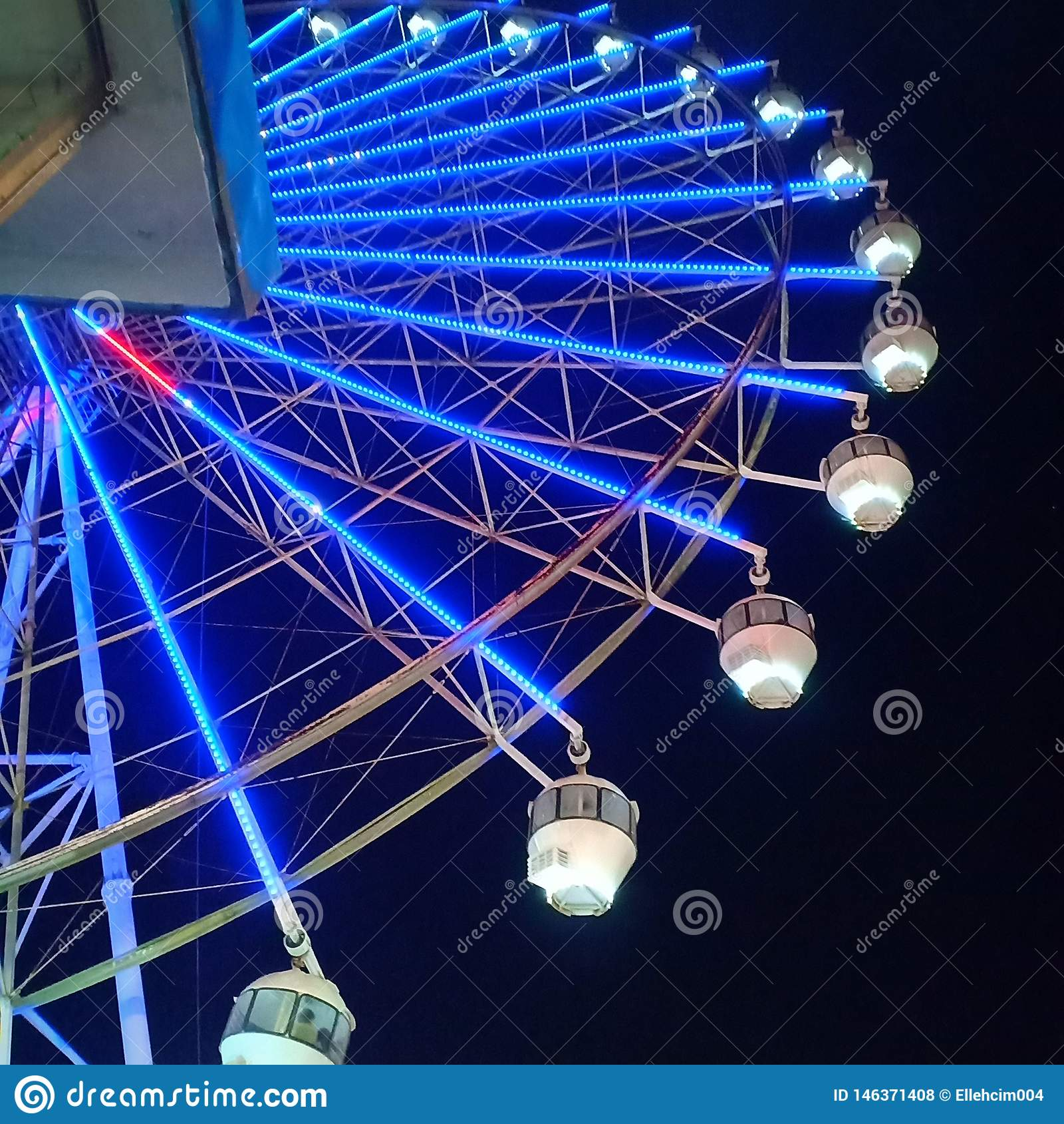 Rancho Ferris Wheel del cielo