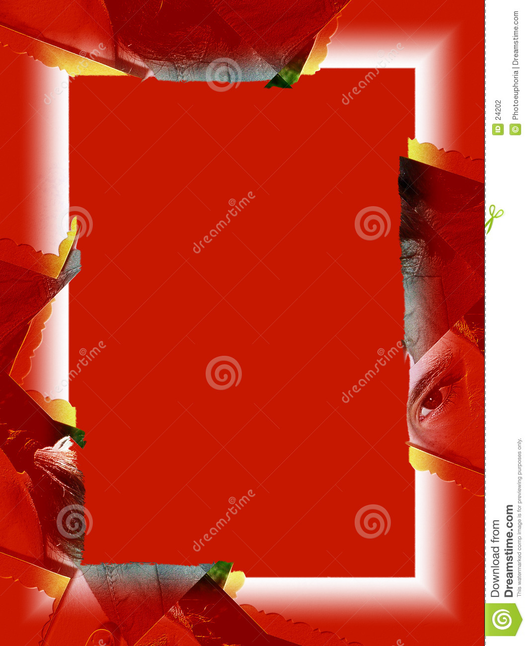 Rand: Rotes Auge