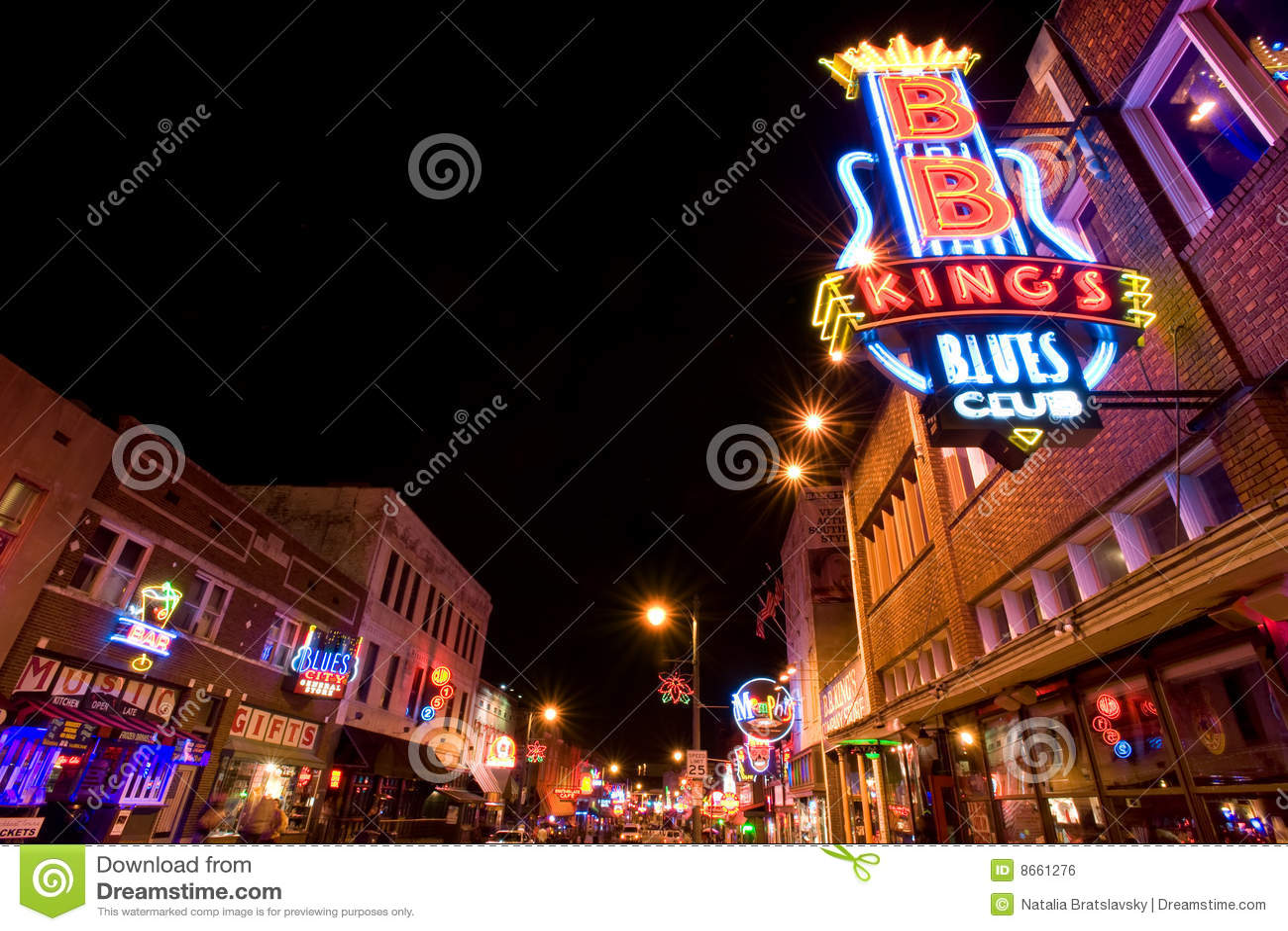 Randelli degli azzurri di Memphis