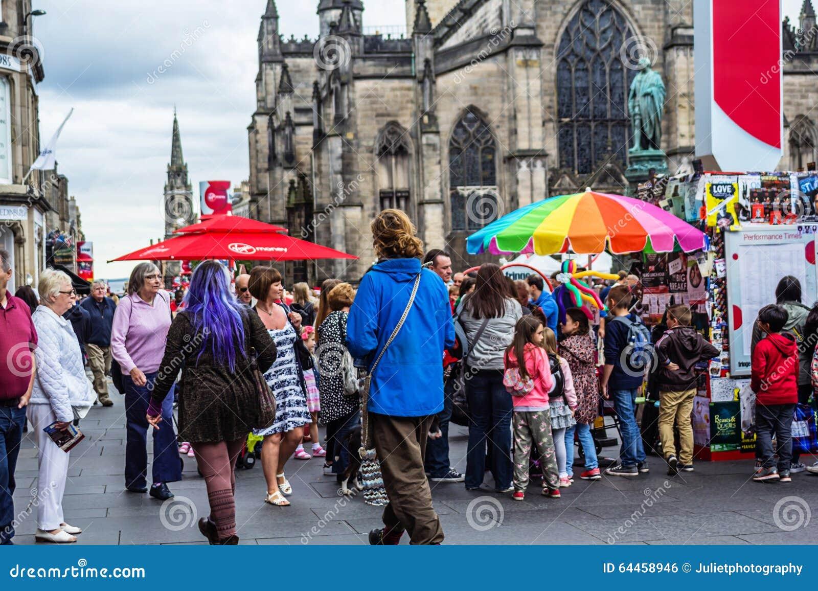 Randfestival in Edinburgh, 2015, Schotland