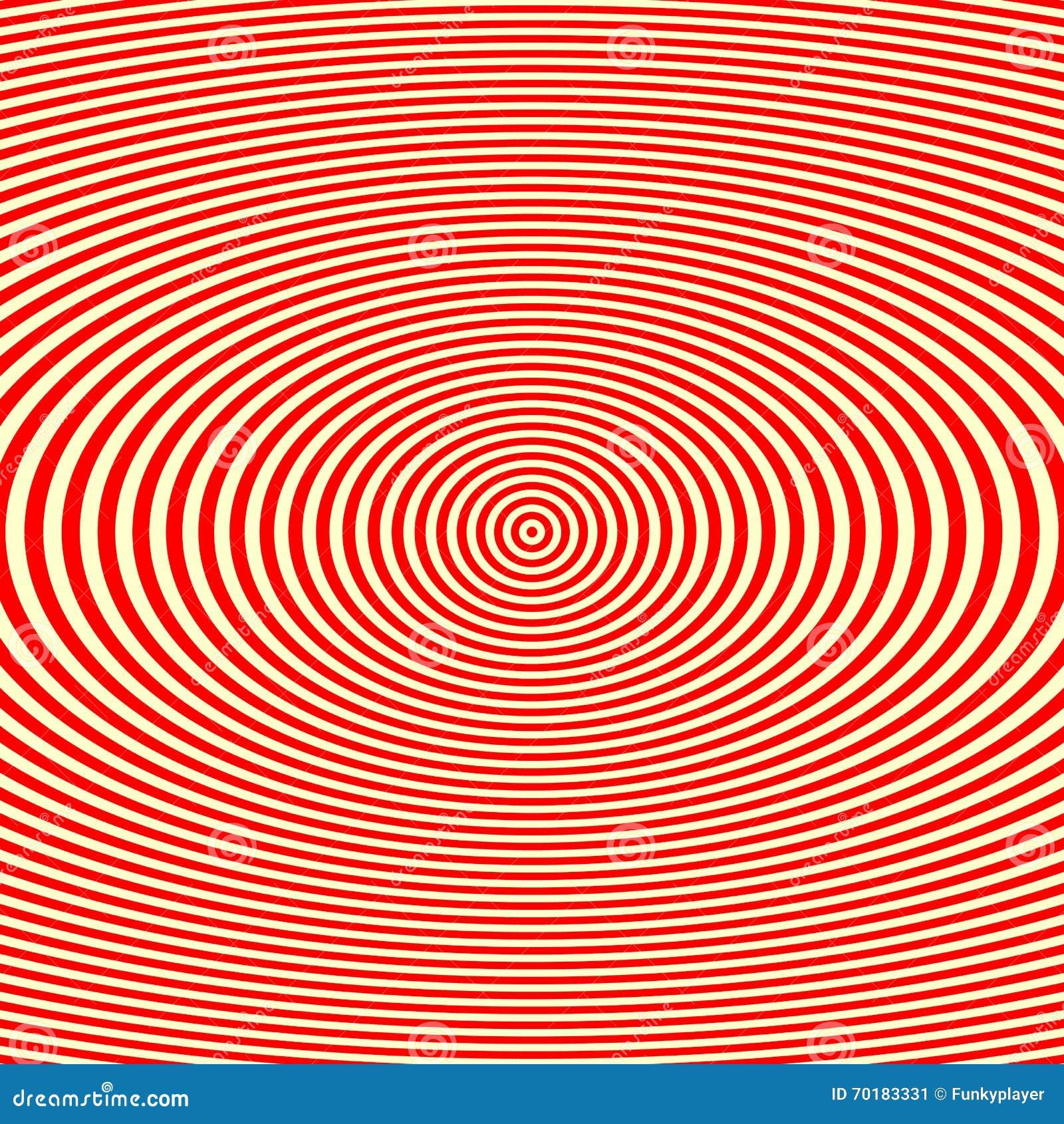 Randig röd vit modell Abstrakt bakgrund för textur för repetitionrundavågor