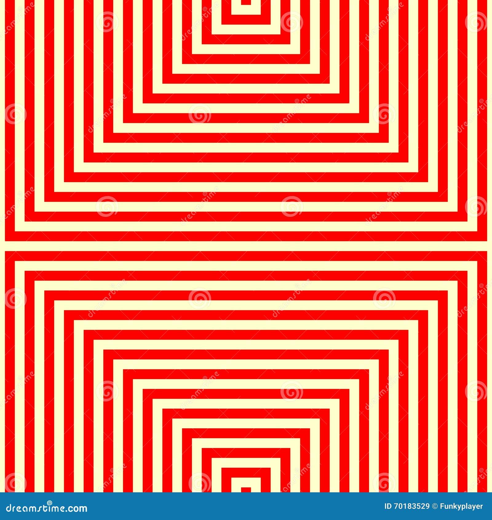 Randig röd vit modell Raka linjer geometrisk texturbakgrund för abstrakt repetition