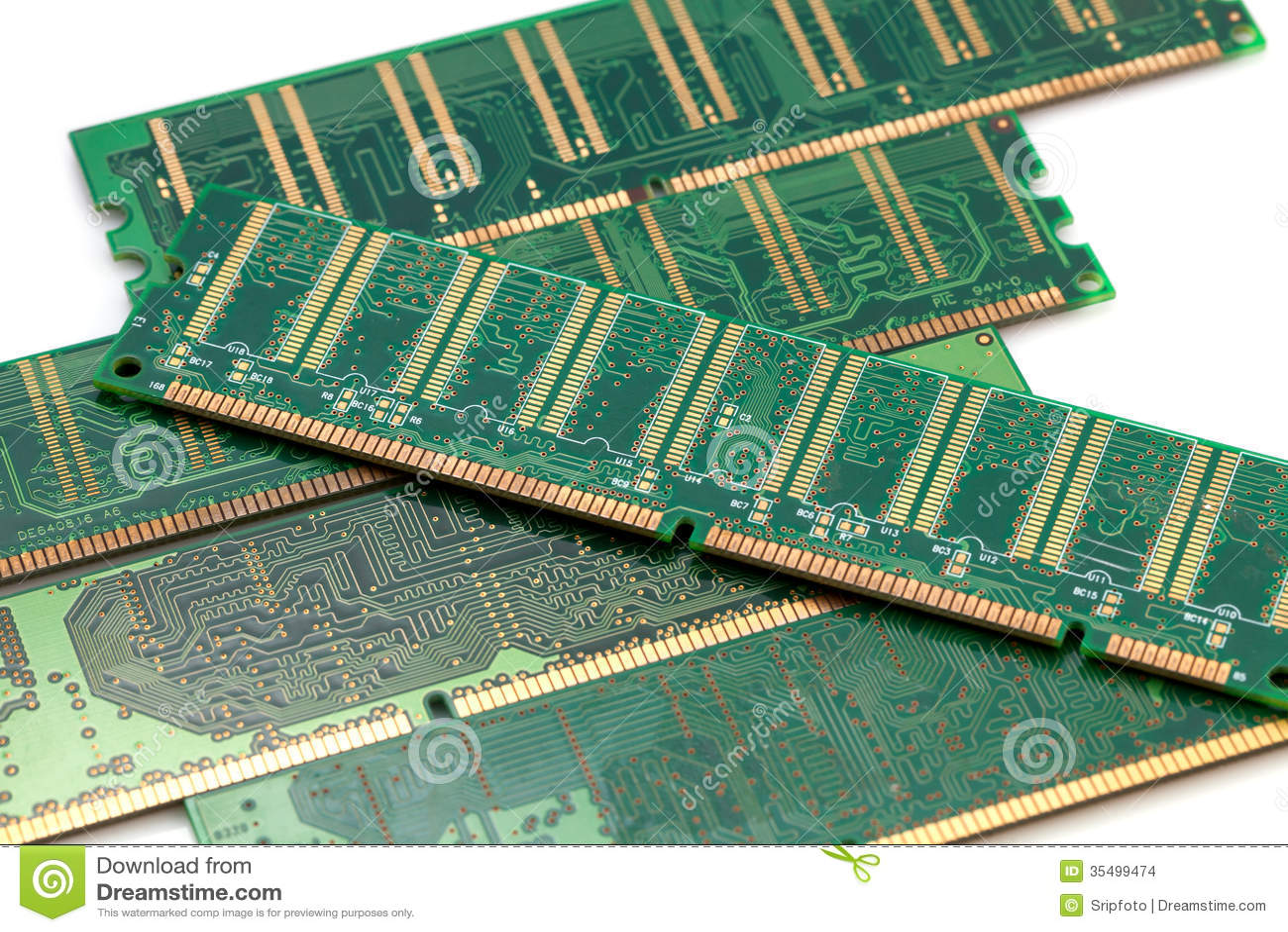 random access memory ram stock images image 35499474. Black Bedroom Furniture Sets. Home Design Ideas