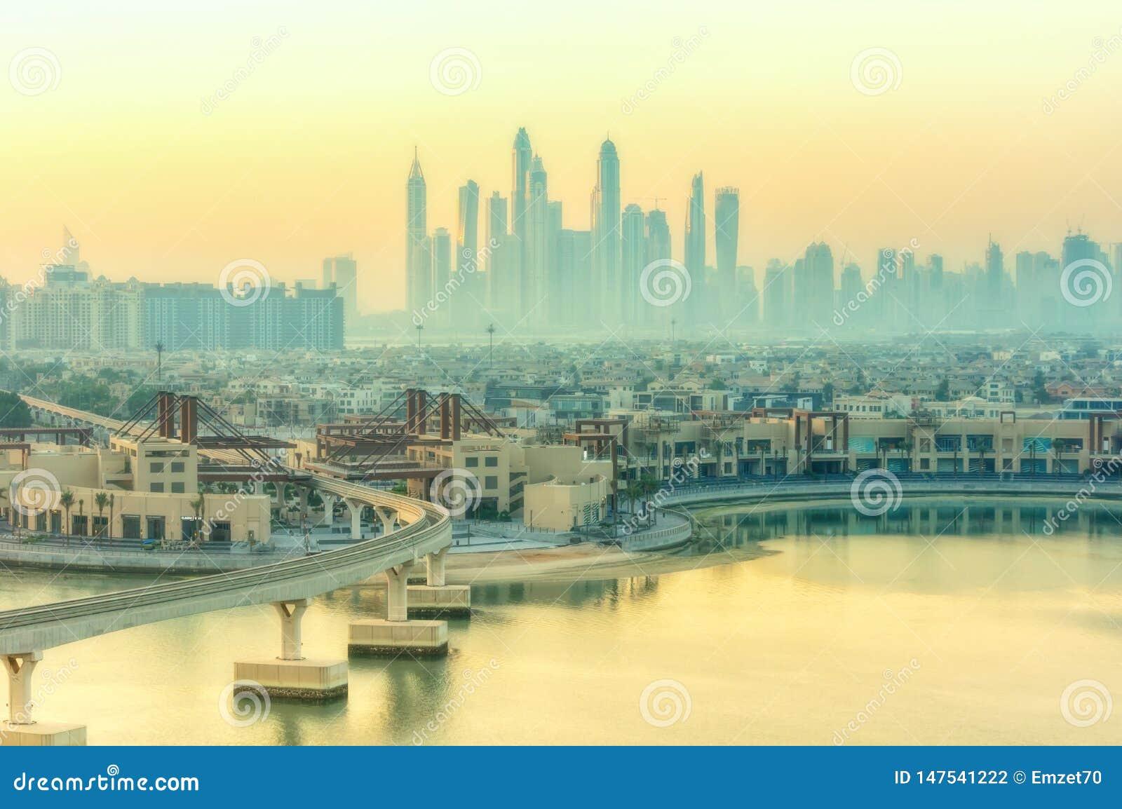 Ranek w Dubaj