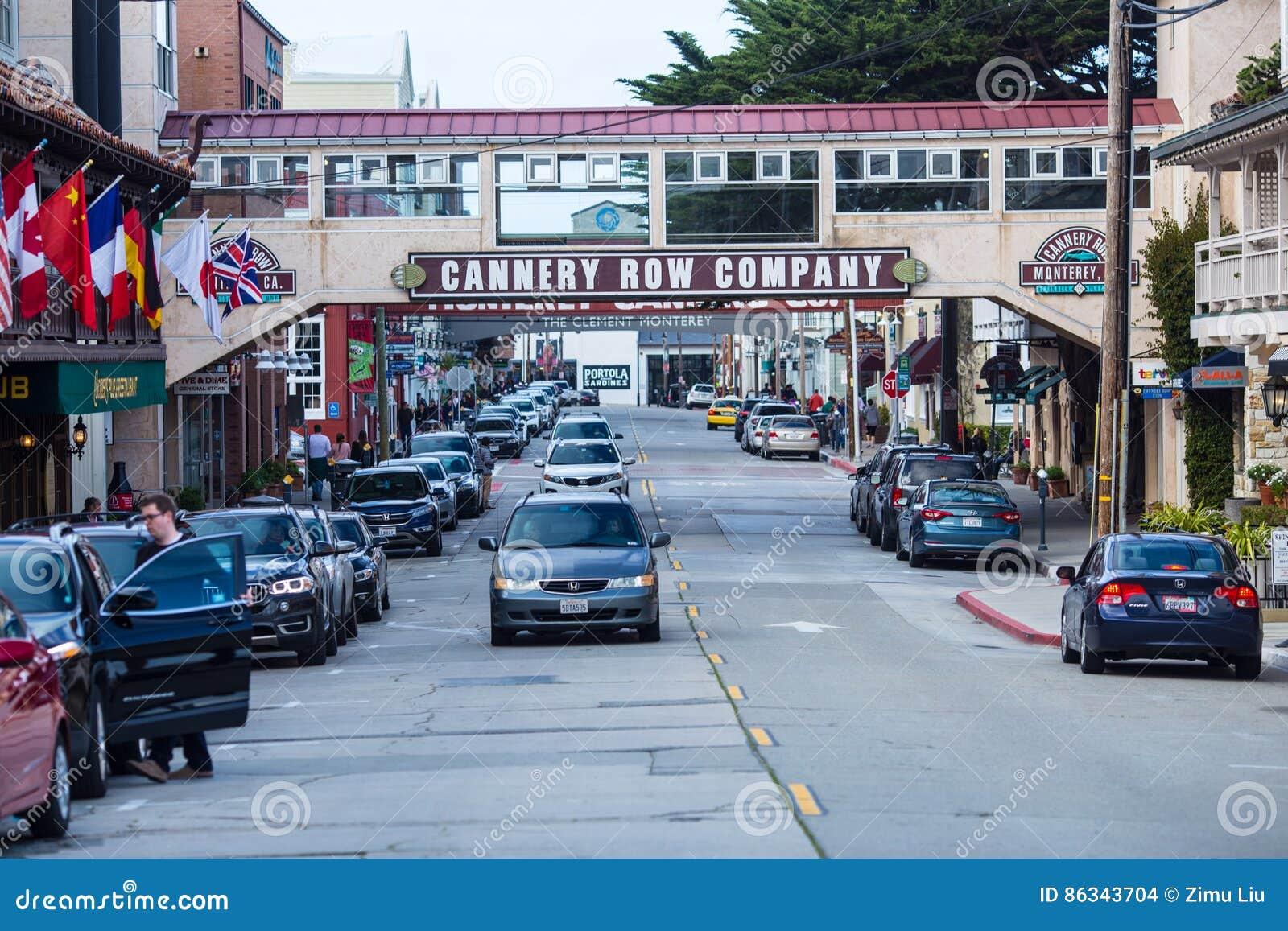 Rangée de Canery, Monterey