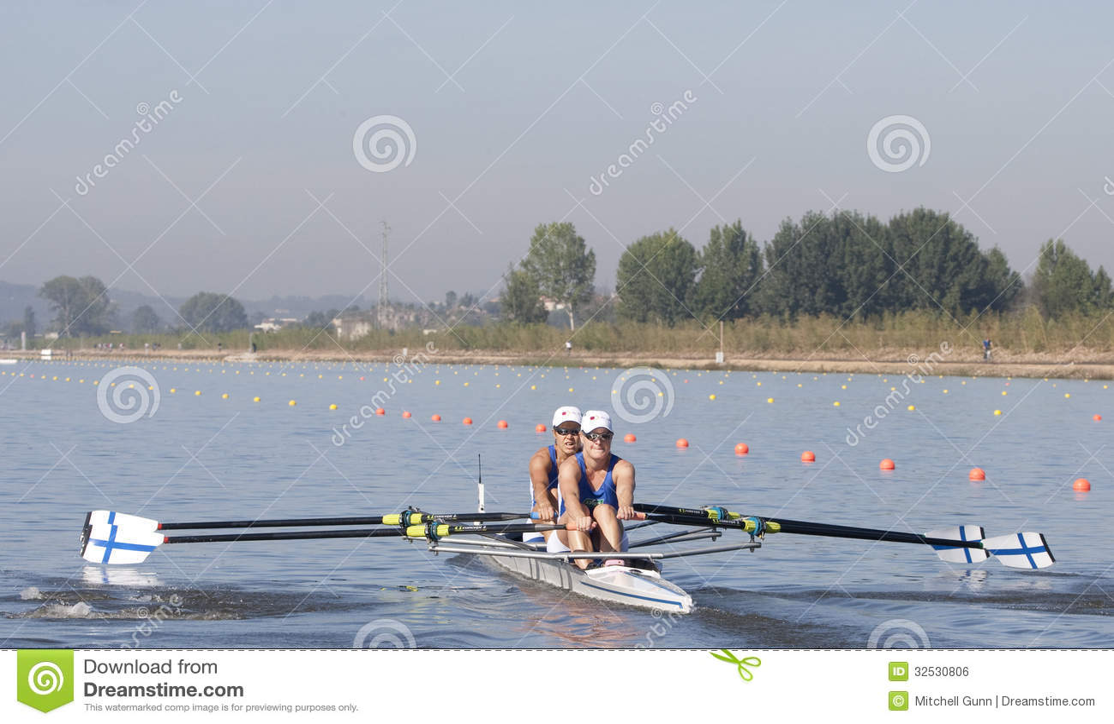 RANGÉE : Les championnats européens d aviron