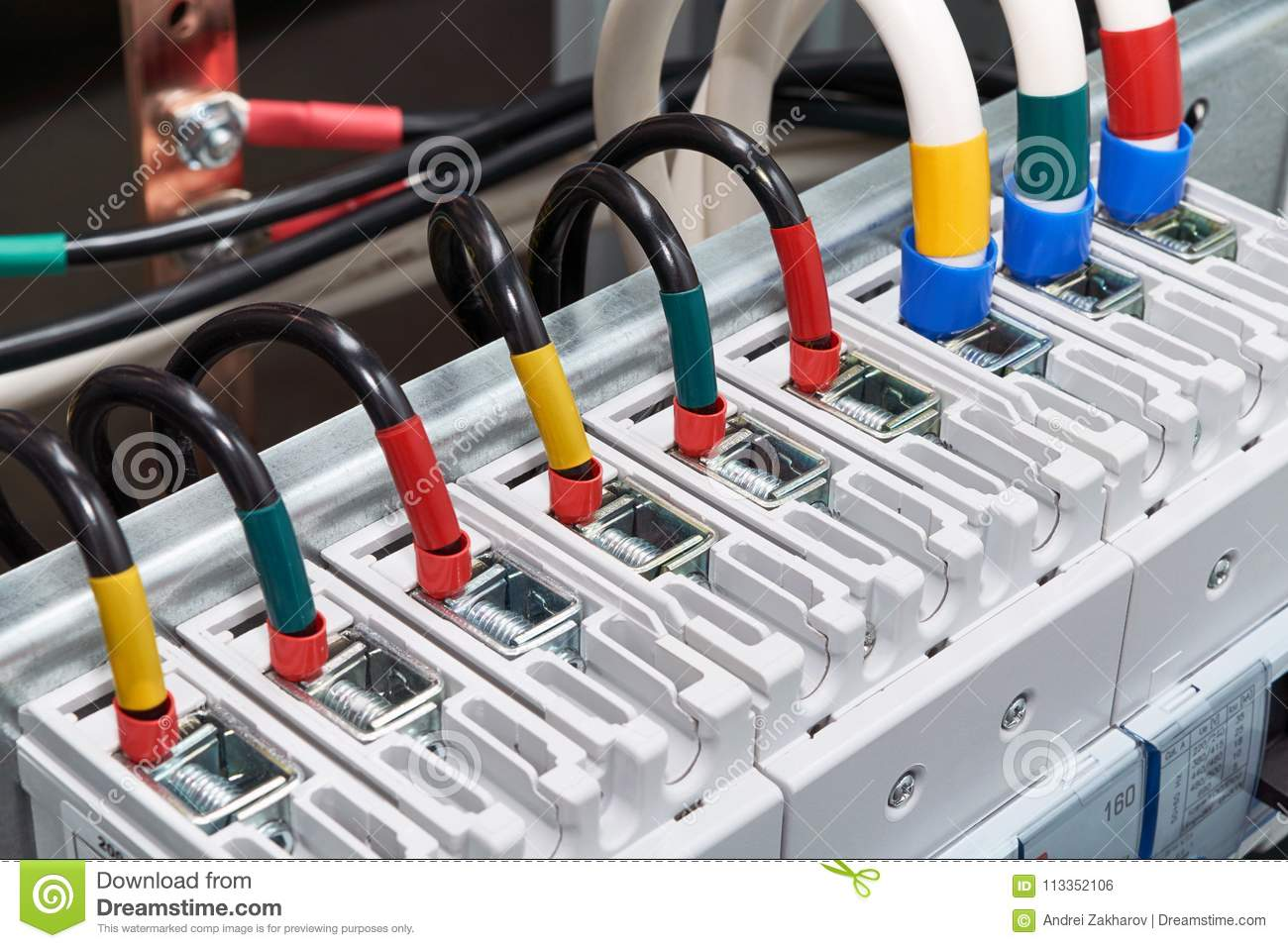 Brilliant Range Of Electrical Wires Or Cables Are Connected To The Power Wiring Digital Resources Timewpwclawcorpcom