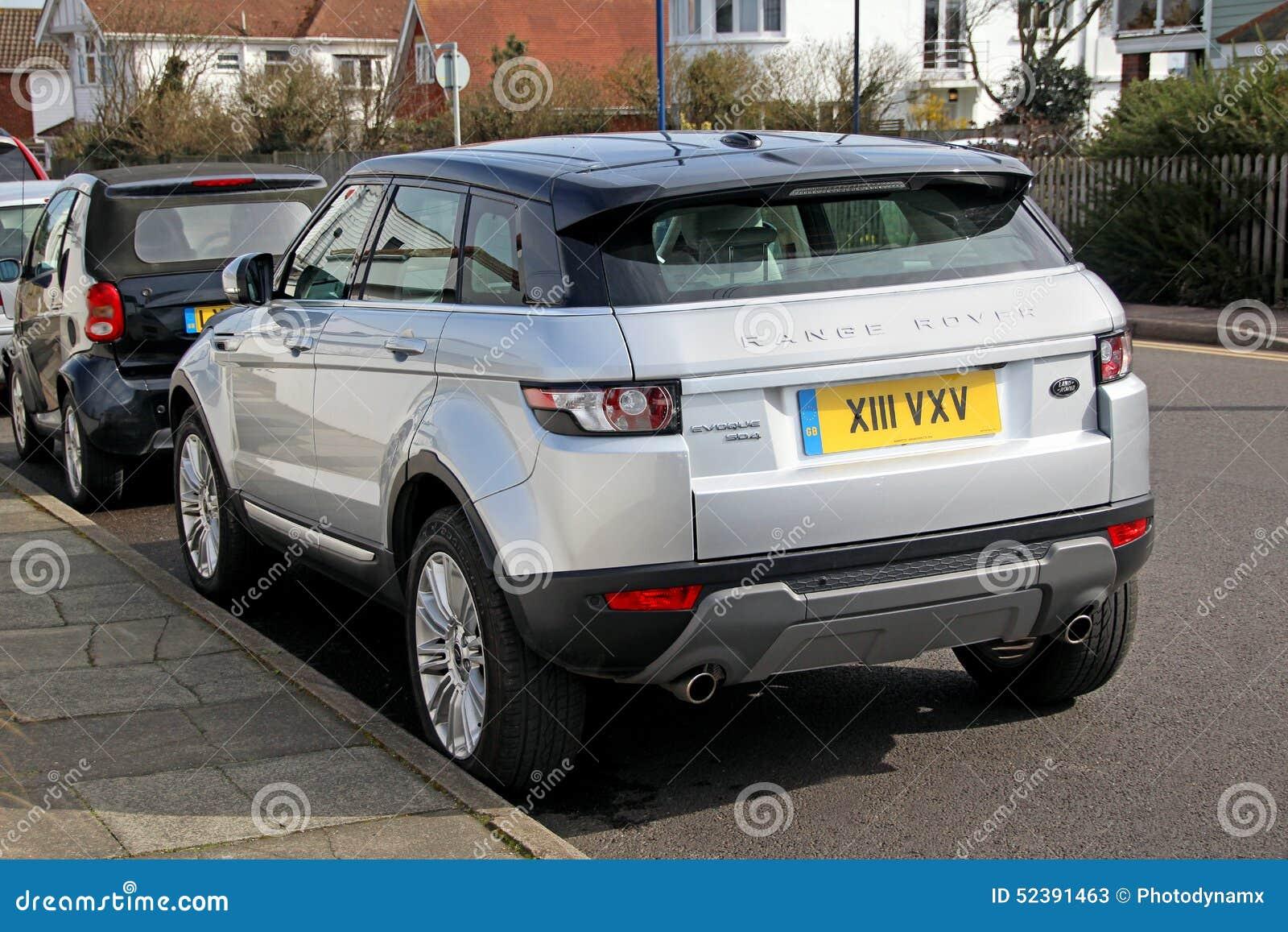 Range Rover Evoque Sports Editorial Stock Photo Image Of Rovers - Range rover stock