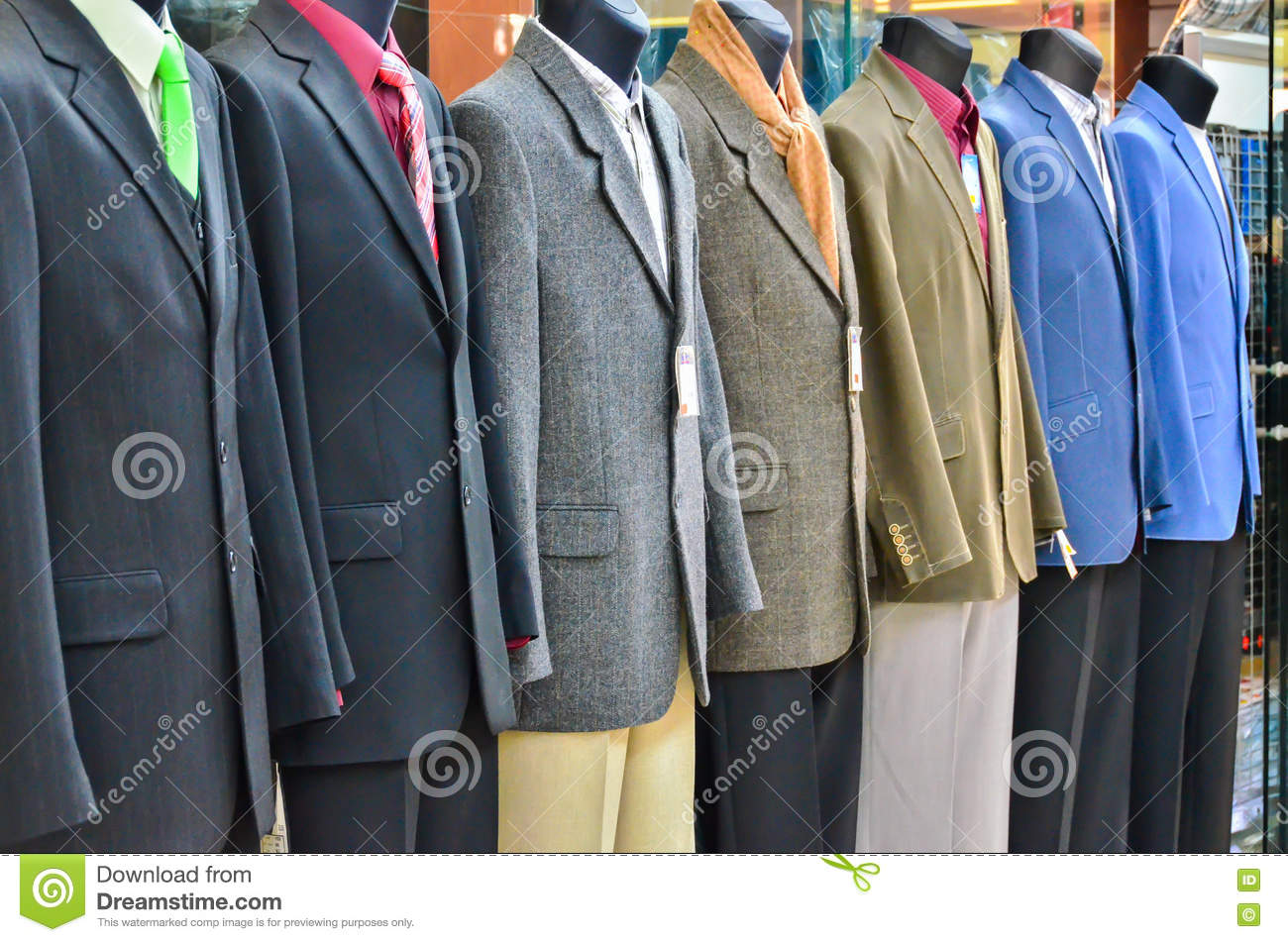 1169d261e95f Suits Shop Mannequins Stock Images - Download 138 Royalty Free Photos