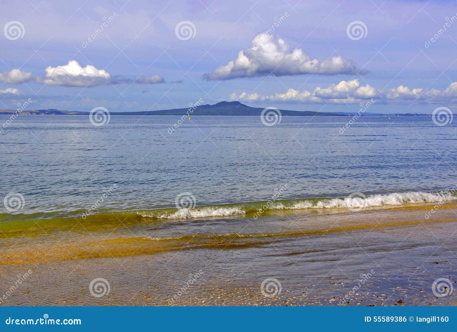 RANGITOTO, Golfe de Hauraki, île du nord, Nouvelle-Zélande