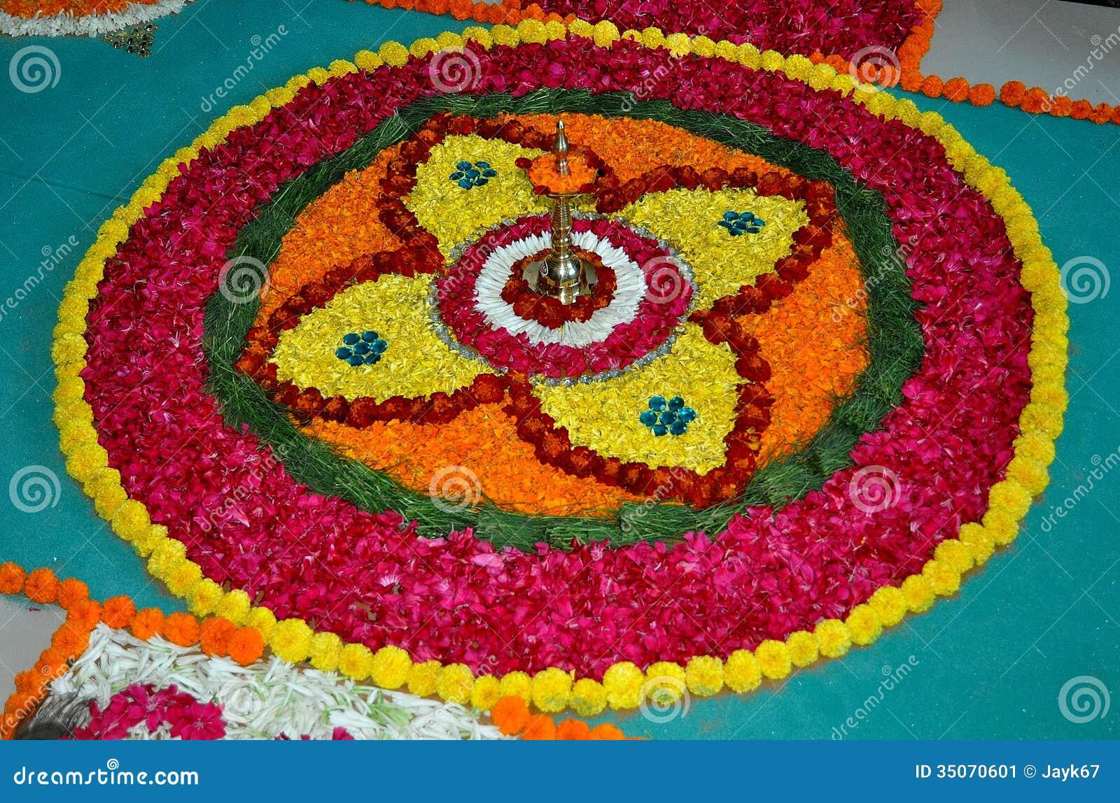 Rangoli Art India Stock Image Image Of Rangoli Colorful