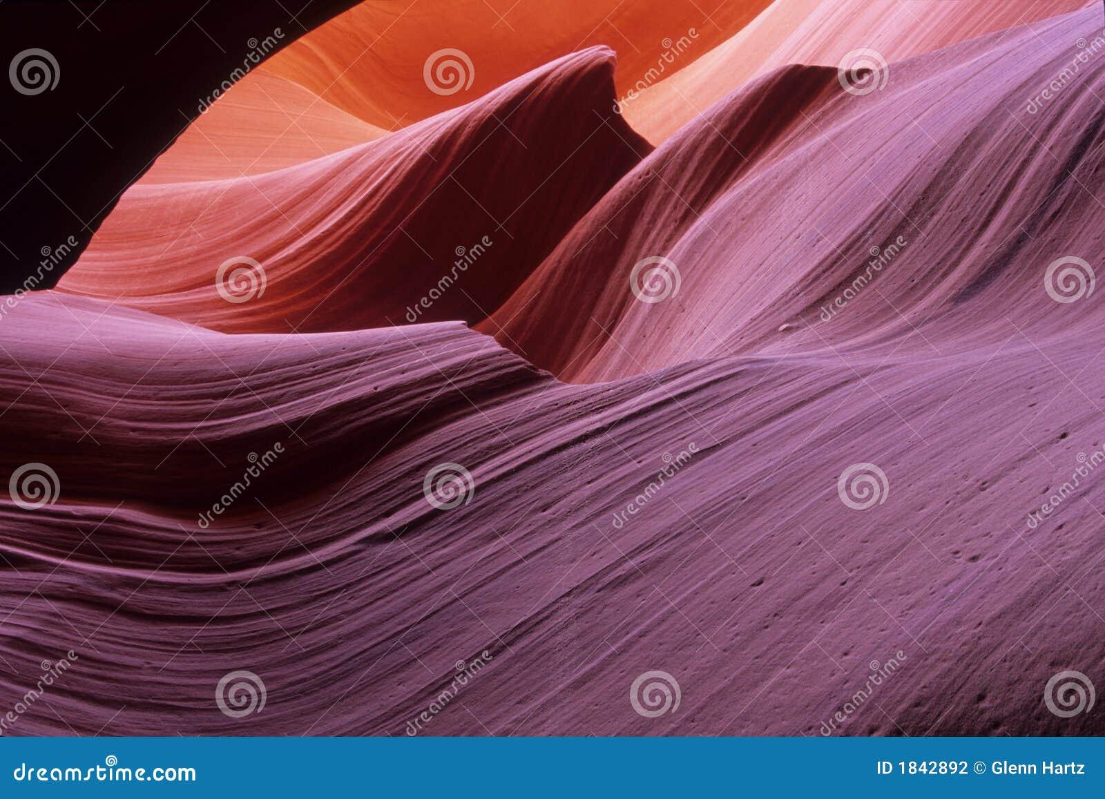 Ranure la barranca #1, una barranca más inferior del antílope, Arizona