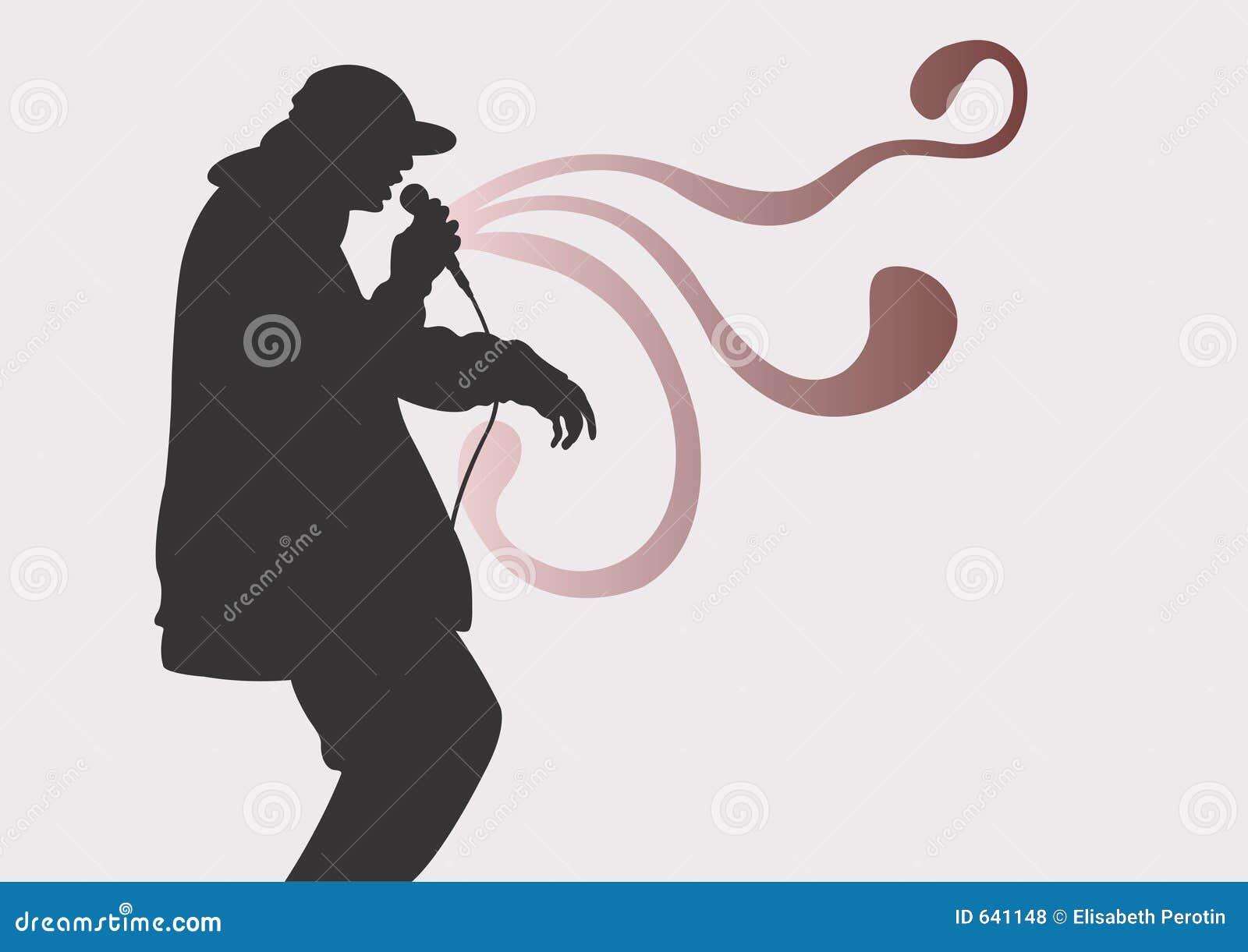 Download Rap иллюстрация штока. иллюстрации насчитывающей человек - 641148