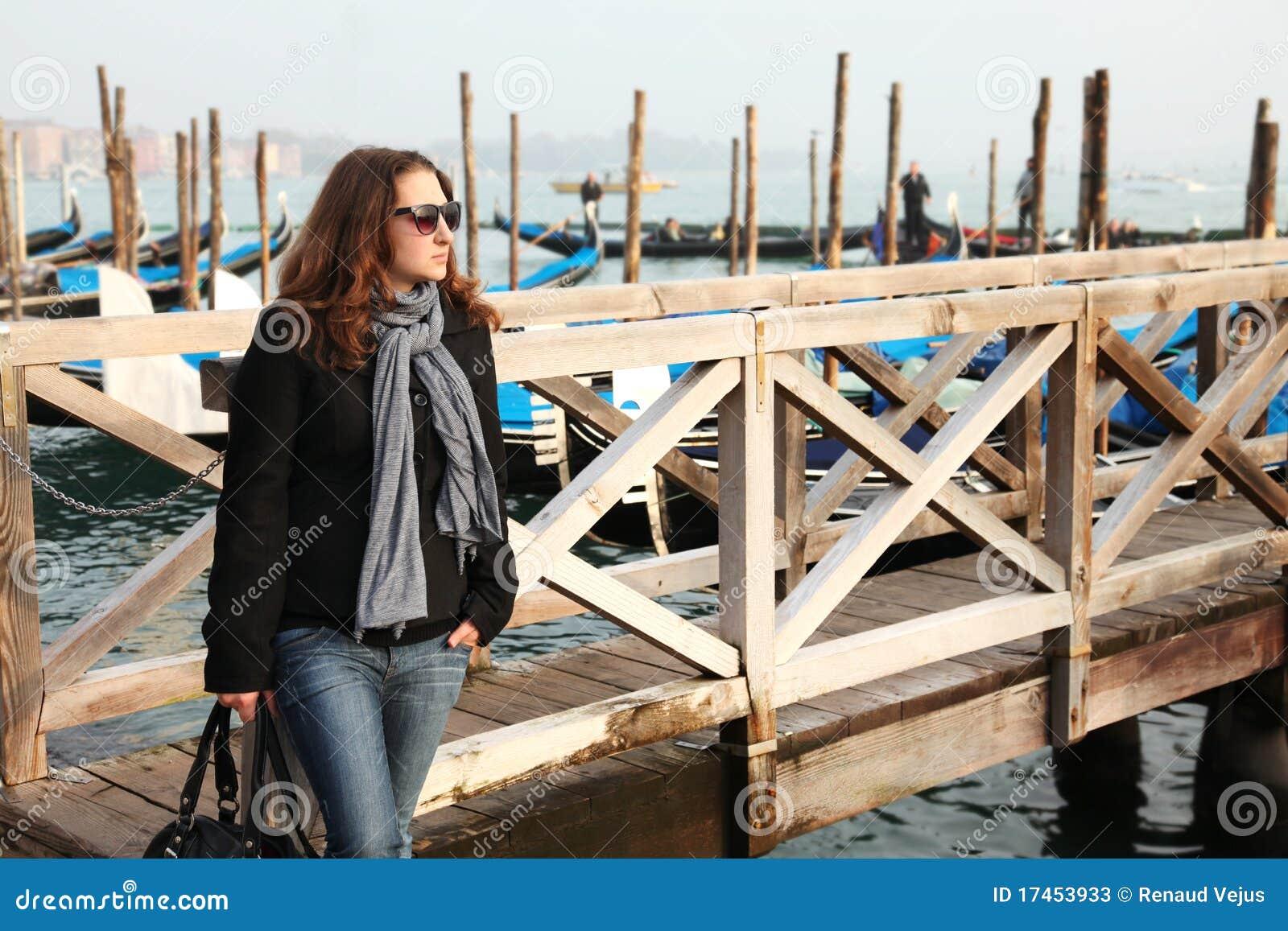 Rapariga em Veneza