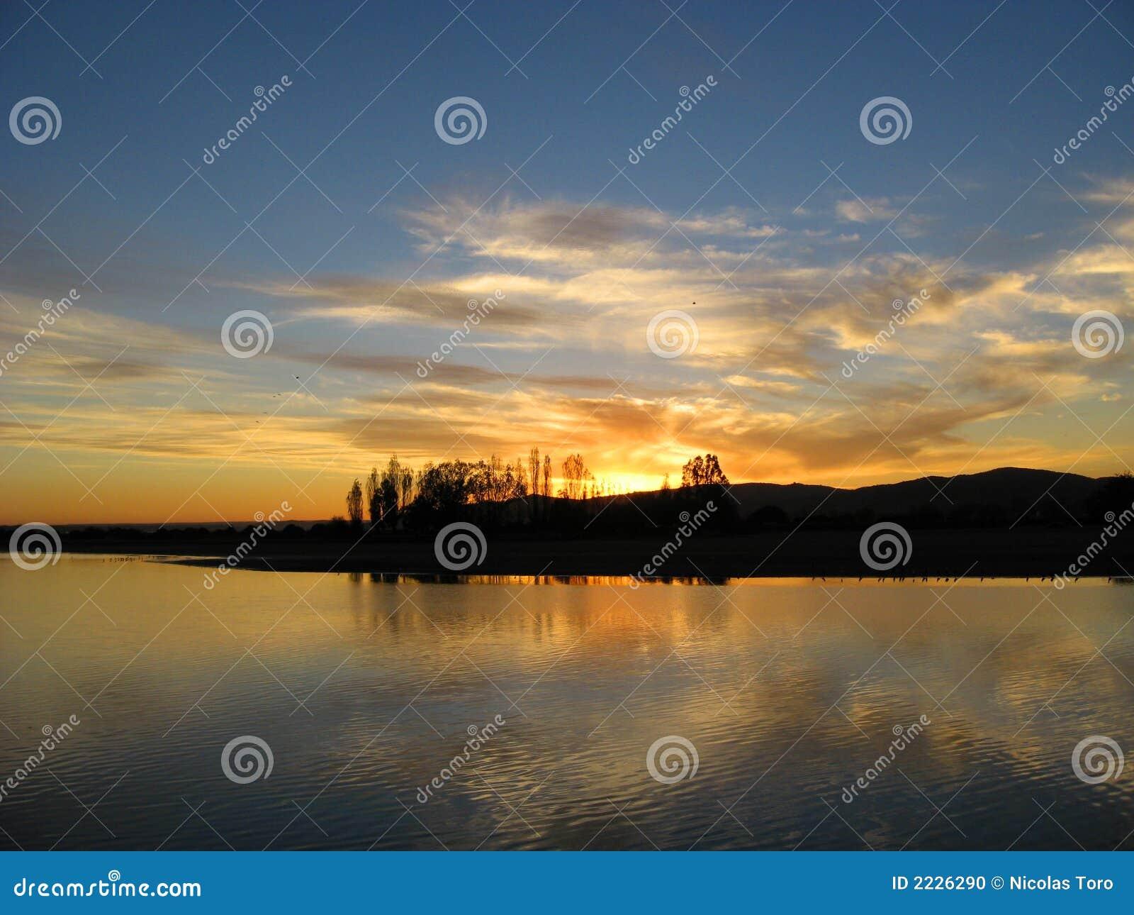 Rapel ηλιοβασίλεμα