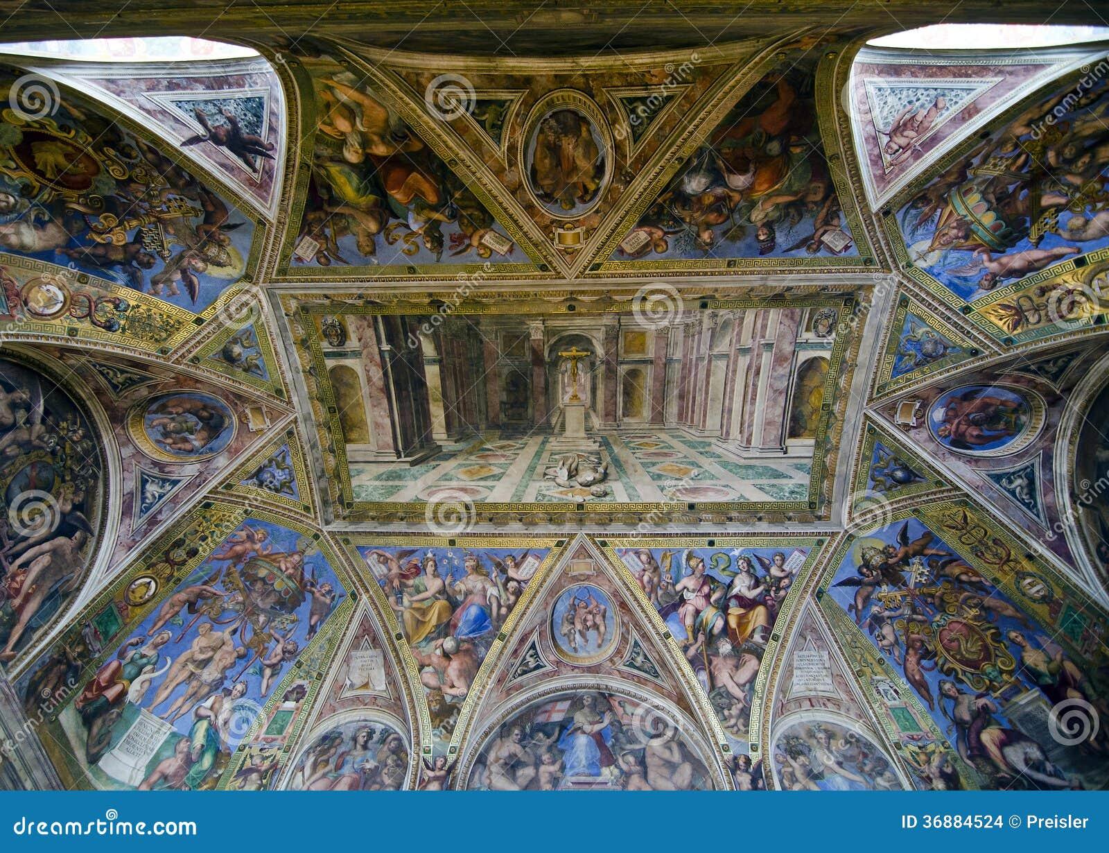 Download Raphael Rooms - Corridoio Di Costantina Immagine Stock Editoriale - Immagine di italiano, italia: 36884524