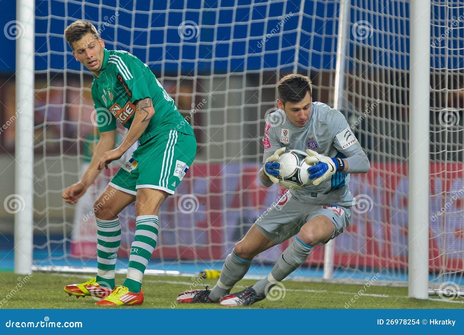 Rapid de la SK contre l Autriche Wien