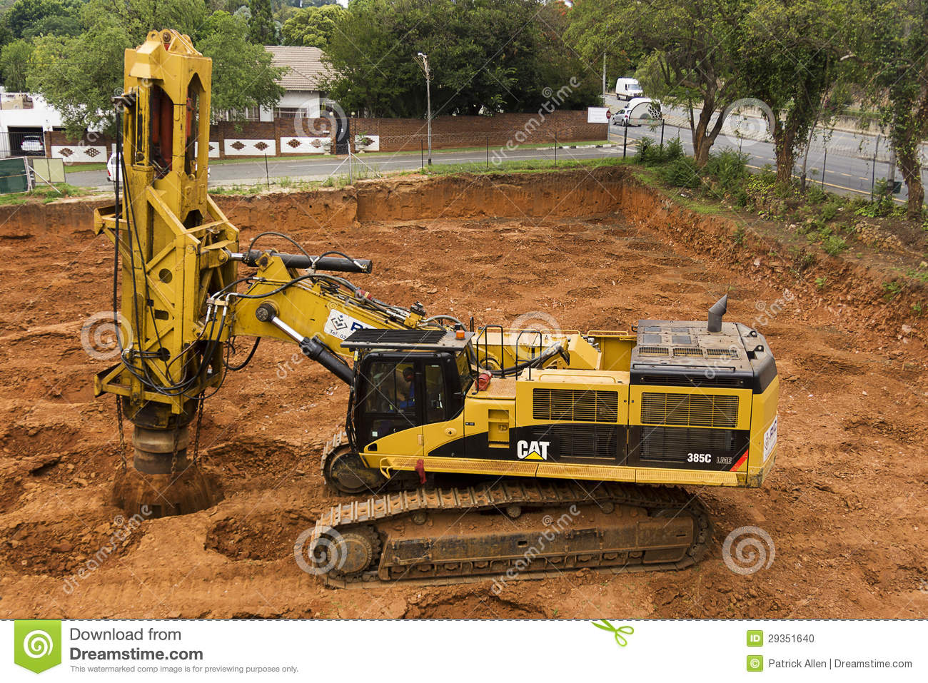 Rapid Impact Compaction Editorial Image Image Of Moving