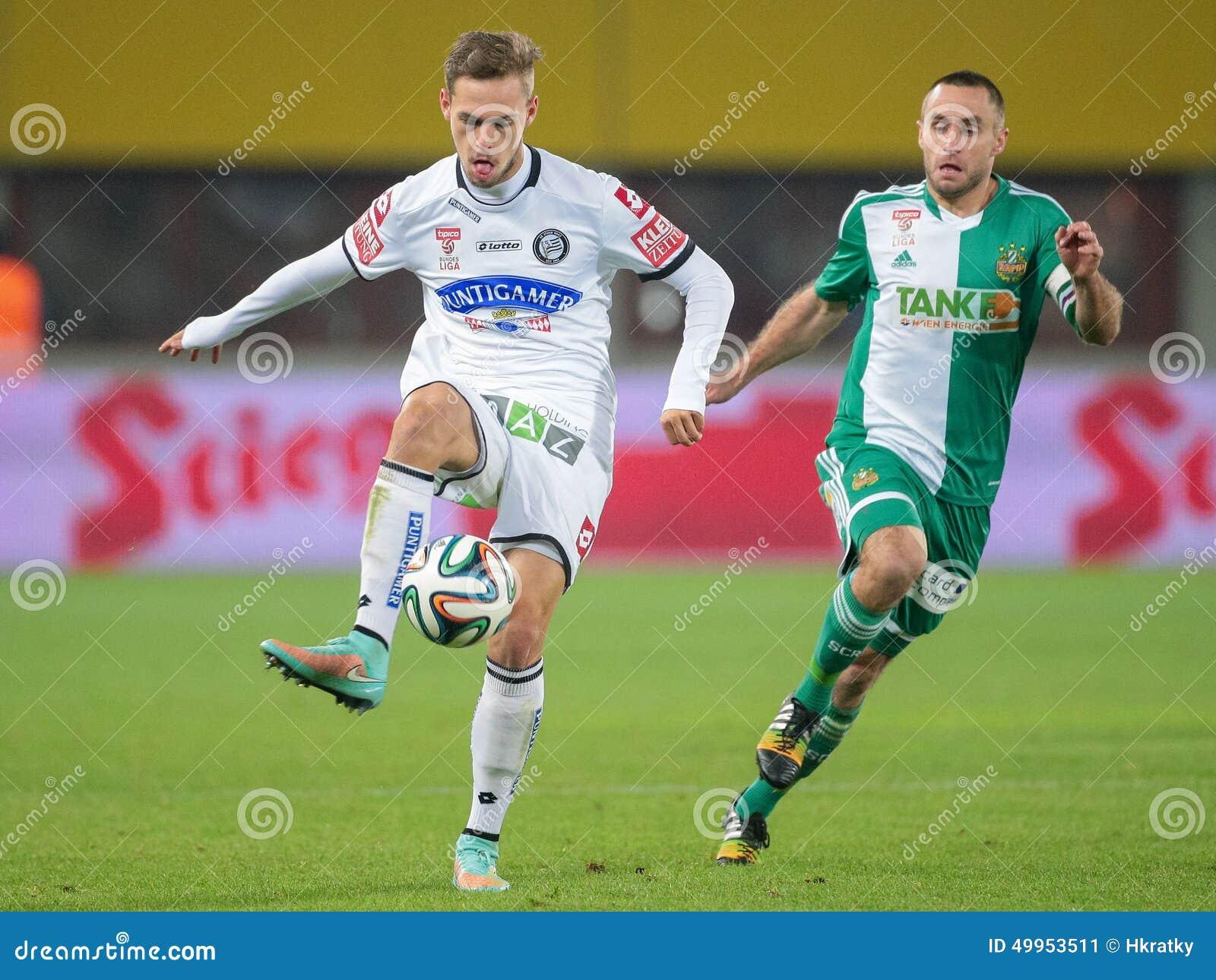 Rapid Vs Sturm Graz Editorial Photo Image Of Game Offense 49953511