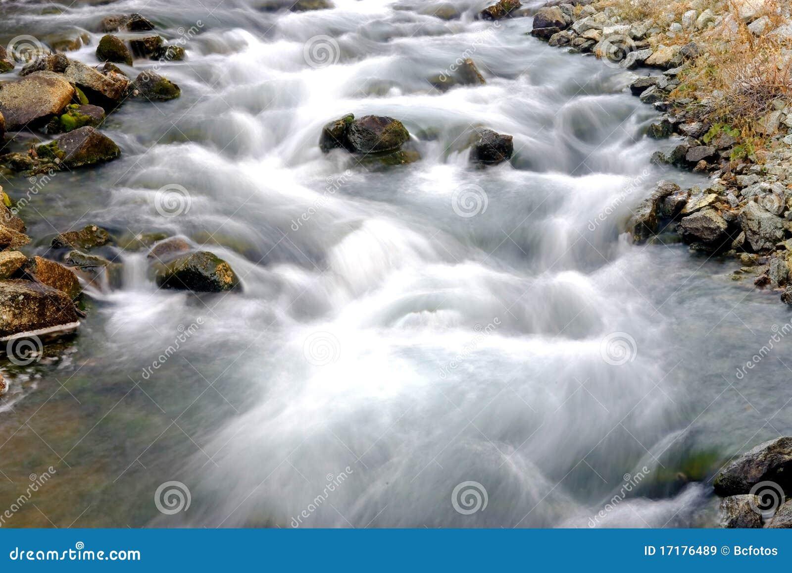 Rapids artistiques de fleuve