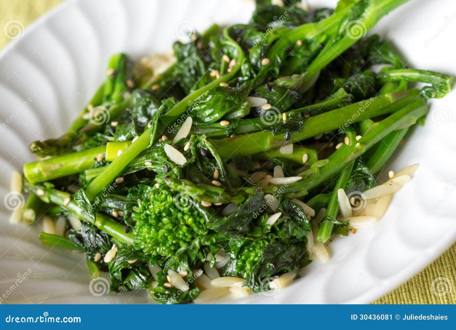 how to make rapini salad
