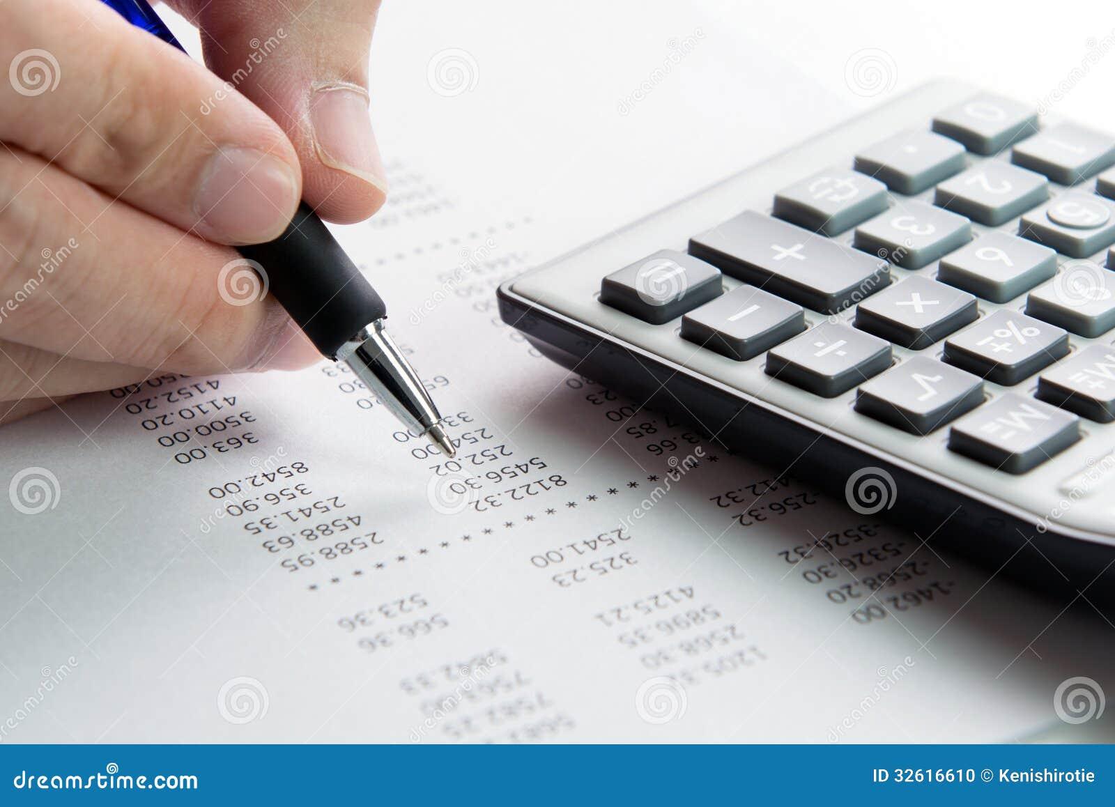 Rapport de finances