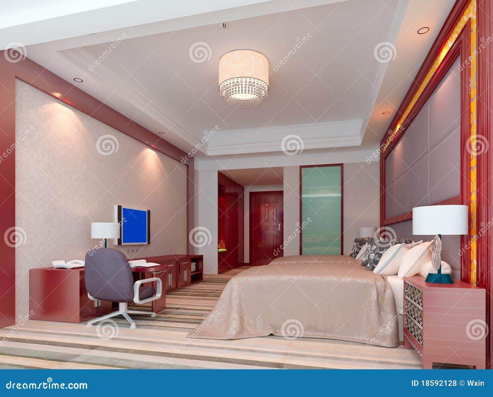 Rappresentazione della camera da letto 3d camere di for Camera letto 3d