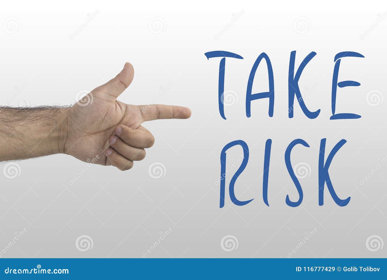 Rappresentazione maschio della mano del ` s per assumersi responsabilità Assumersi responsabilità, concetto di probabilità del pe